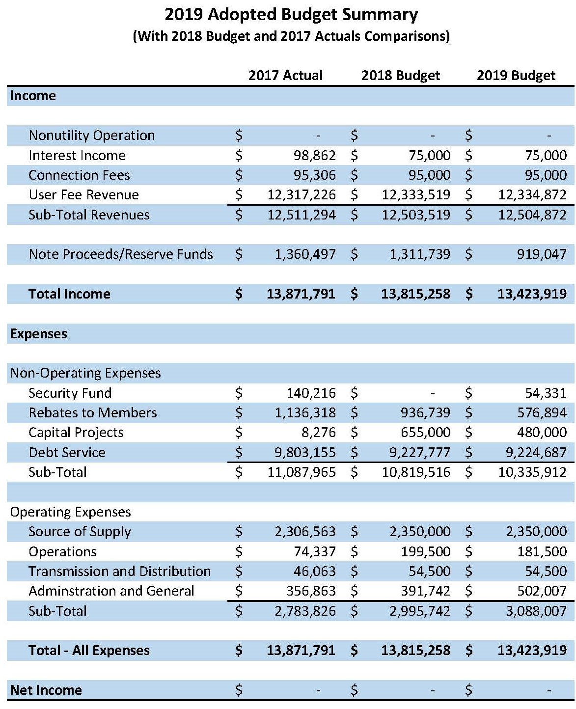 Budget Summary for Web_adopted 2019 cropped