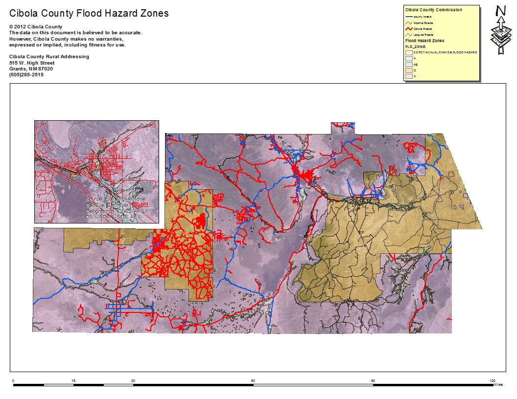 Cibola Flood Hazard Zones