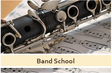 Band School Click here for more information
