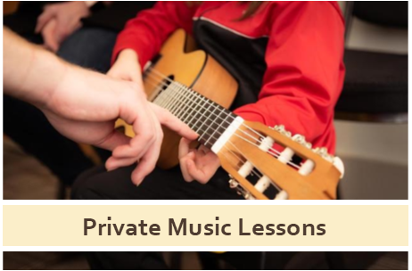 Private Music Lessons Click here for more information