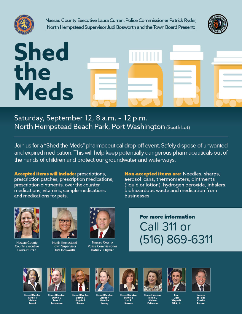 Shed the Meds Flyer