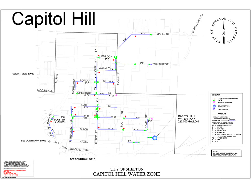Capitol Hill Zone Flushing Map edited