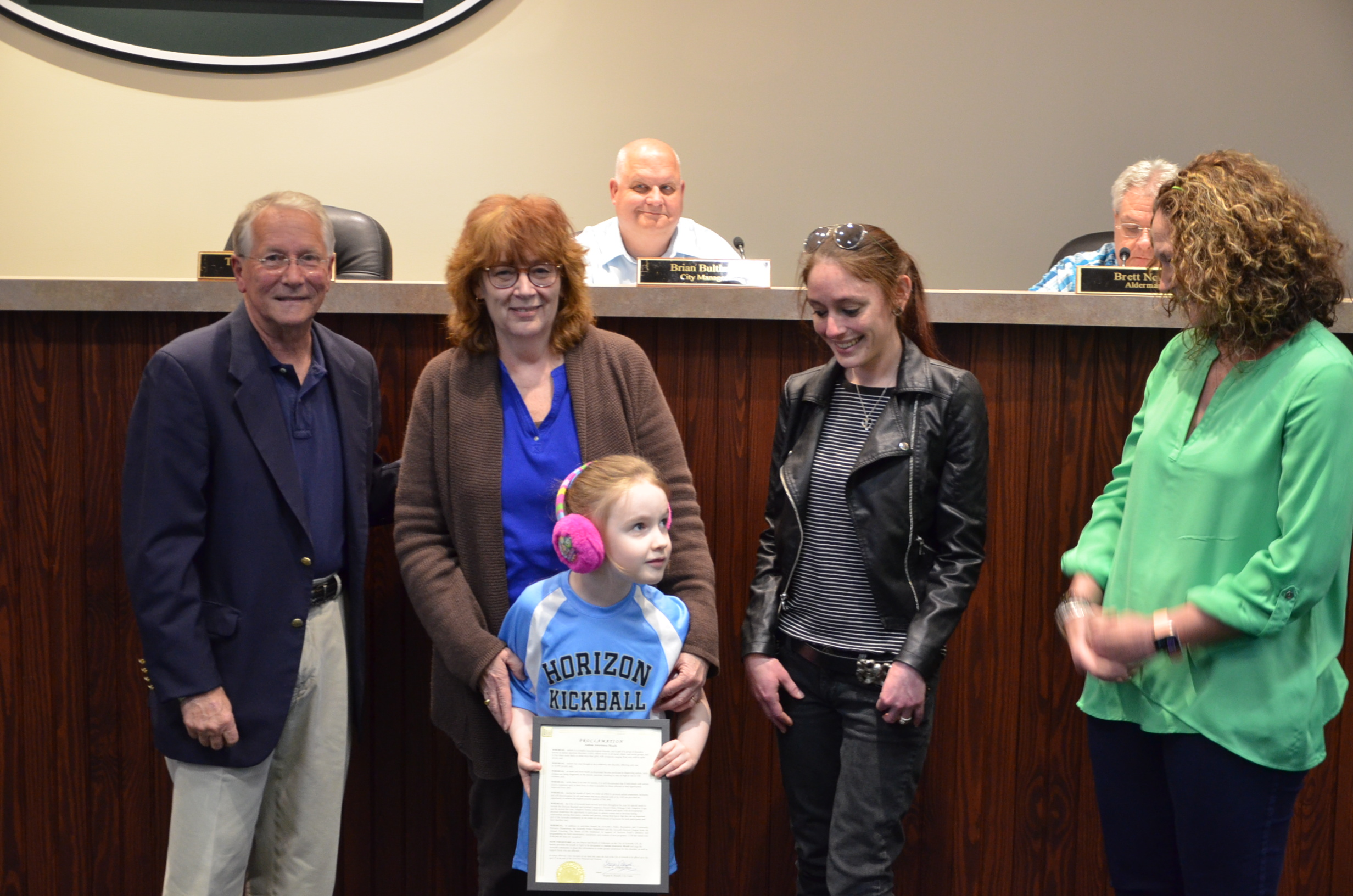 Image of Autism Awareness Proclamation
