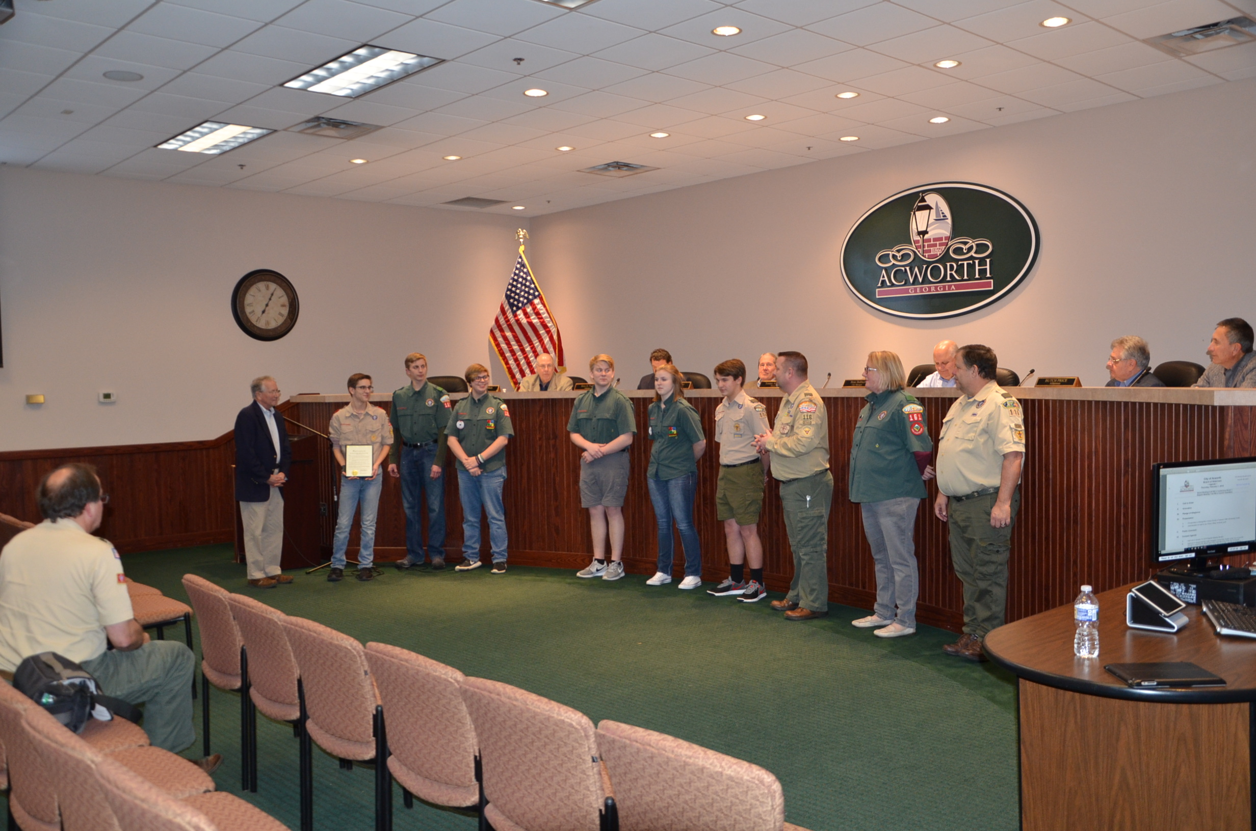 Image of Boy Scout Week Recognition