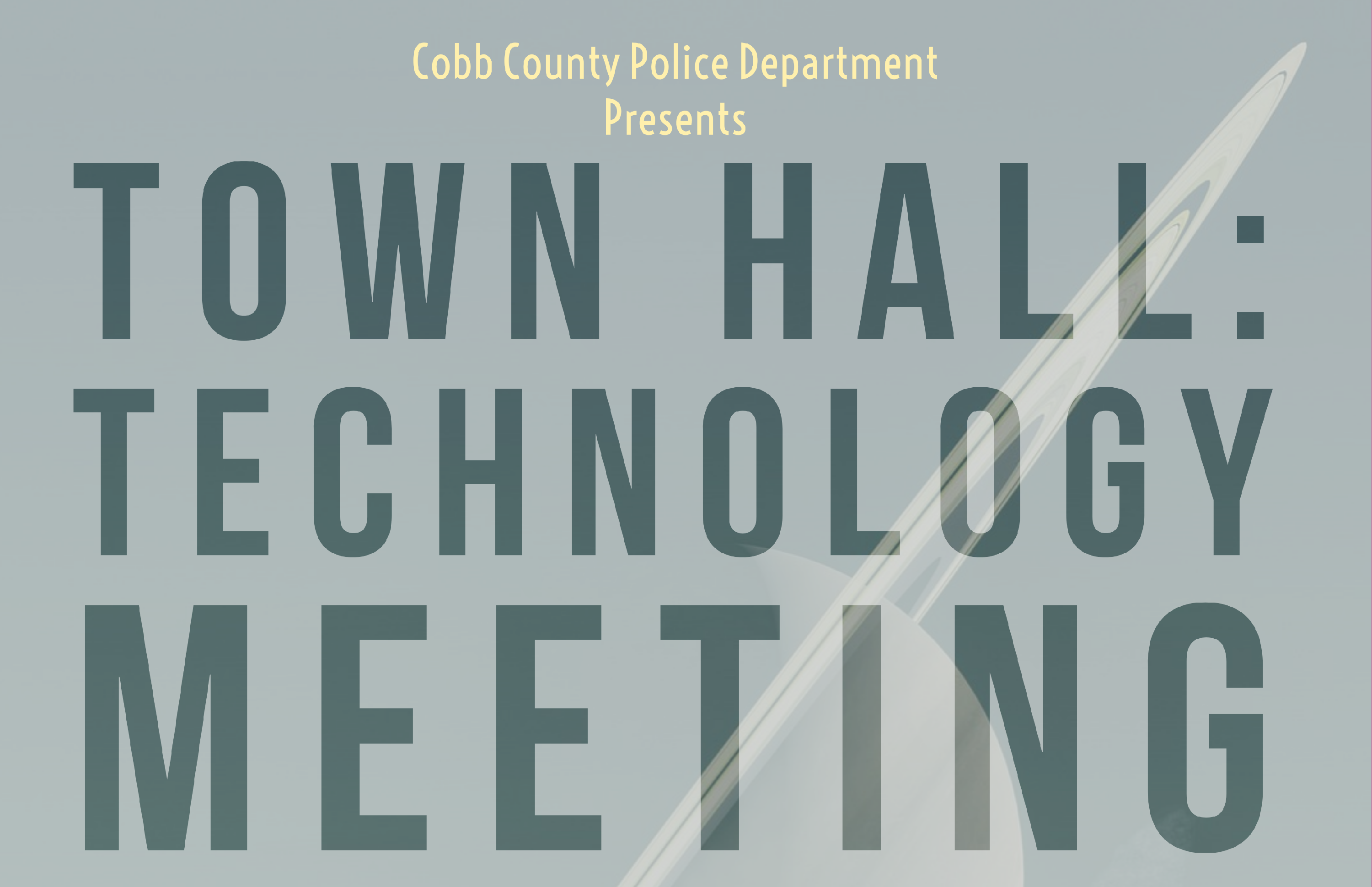 Town Hall: Technology Meeting
