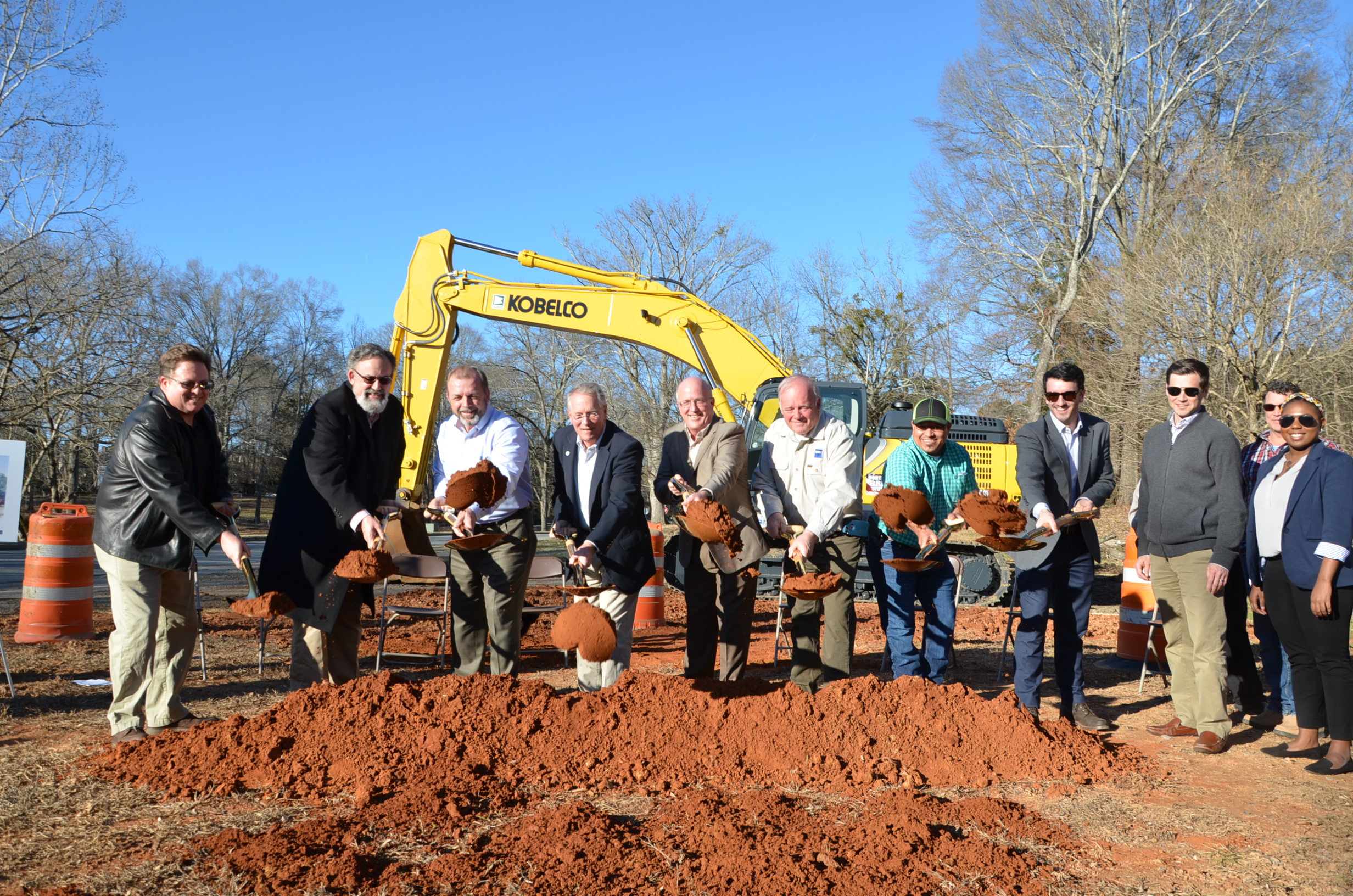 Image of Groundbreaking Ceremony for the Acworth Community Center