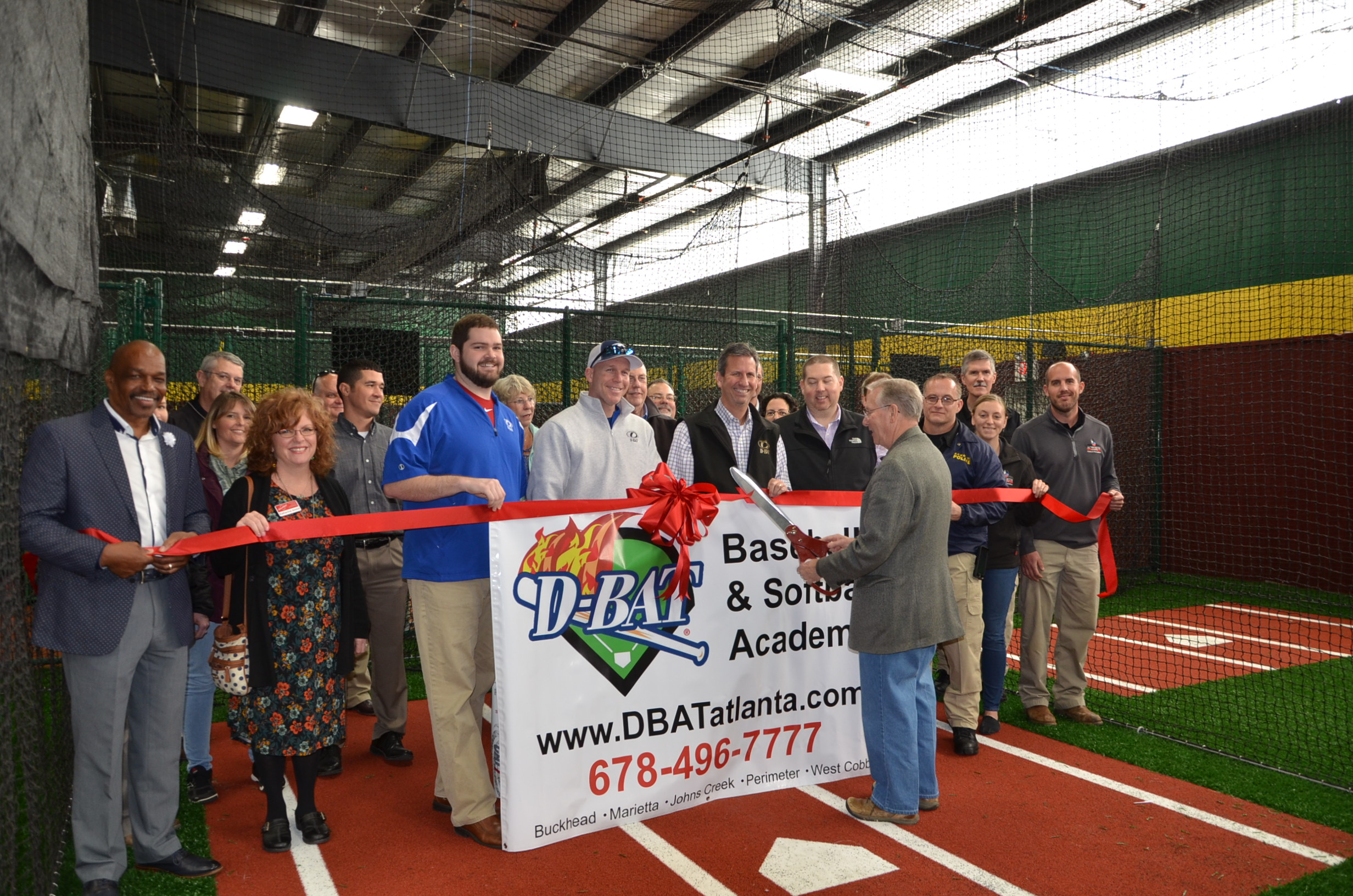 Image of DBAT Ribbon Cutting