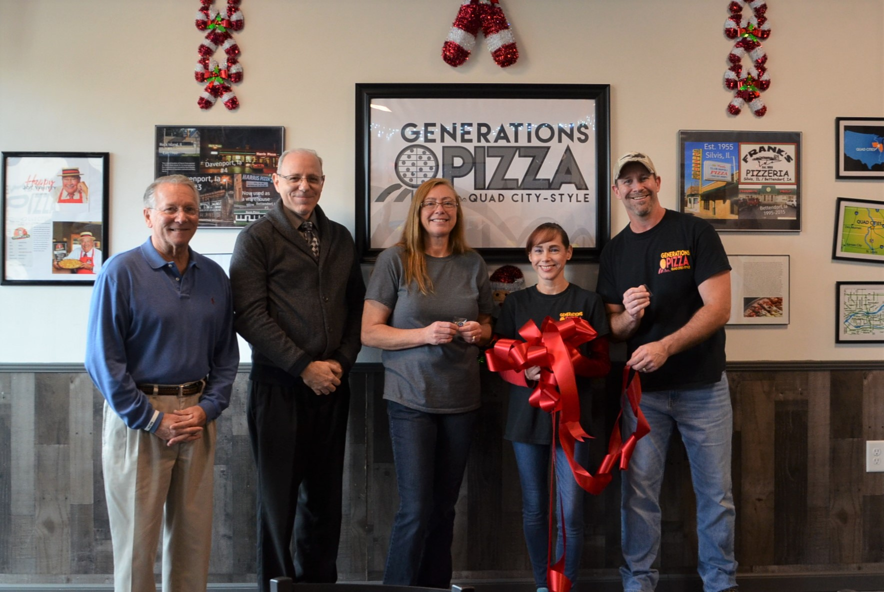 Generations Pizza Ribbon Cutting