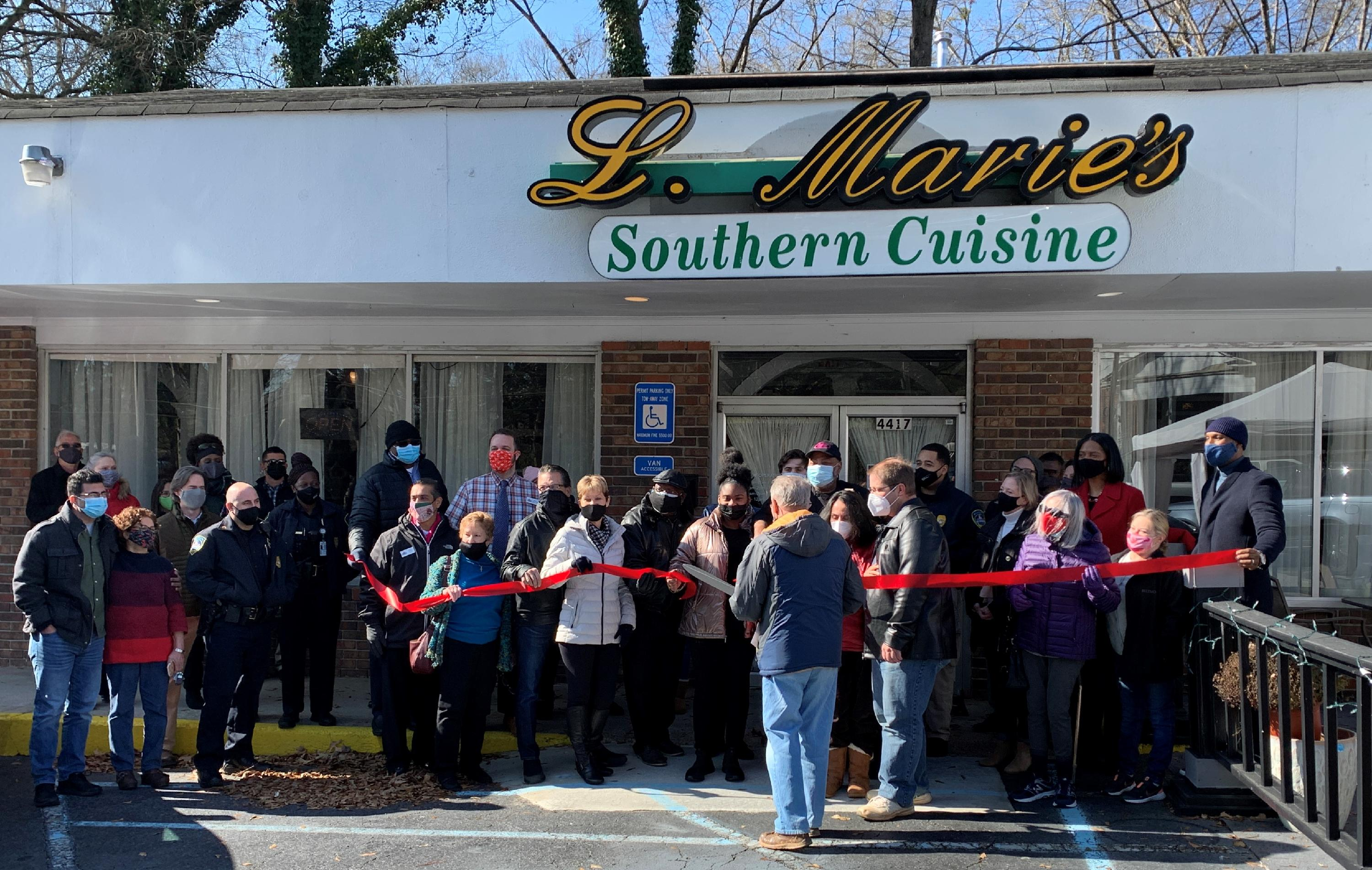L Maire's Southern Cuisine Ribbon Cutting