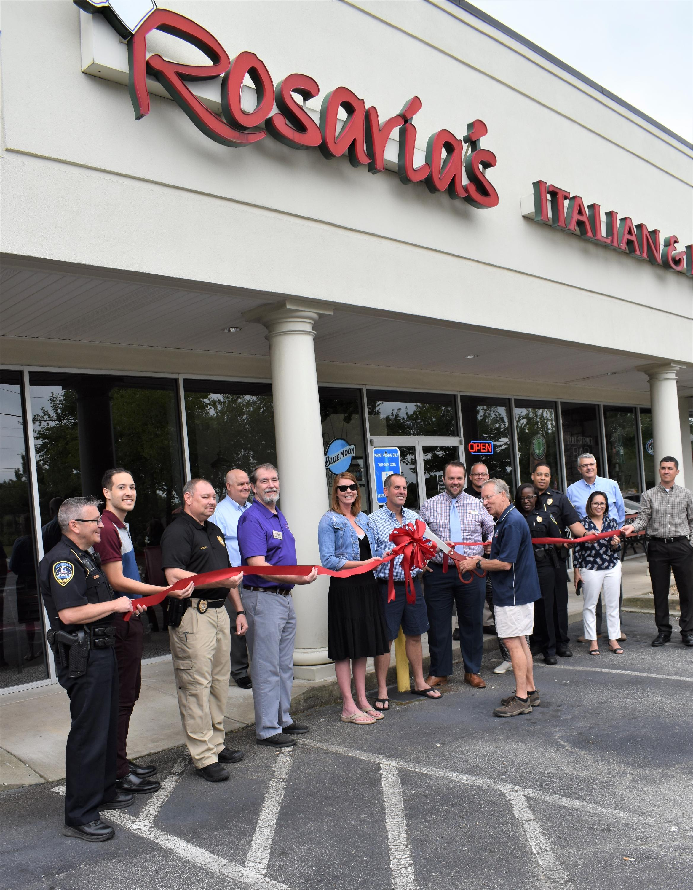 Image of Ribbon Cutting for Rosaria's Italian Kitchen