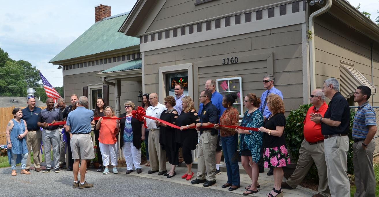 Photo of Ribbon Cutting for Tilted Tulip
