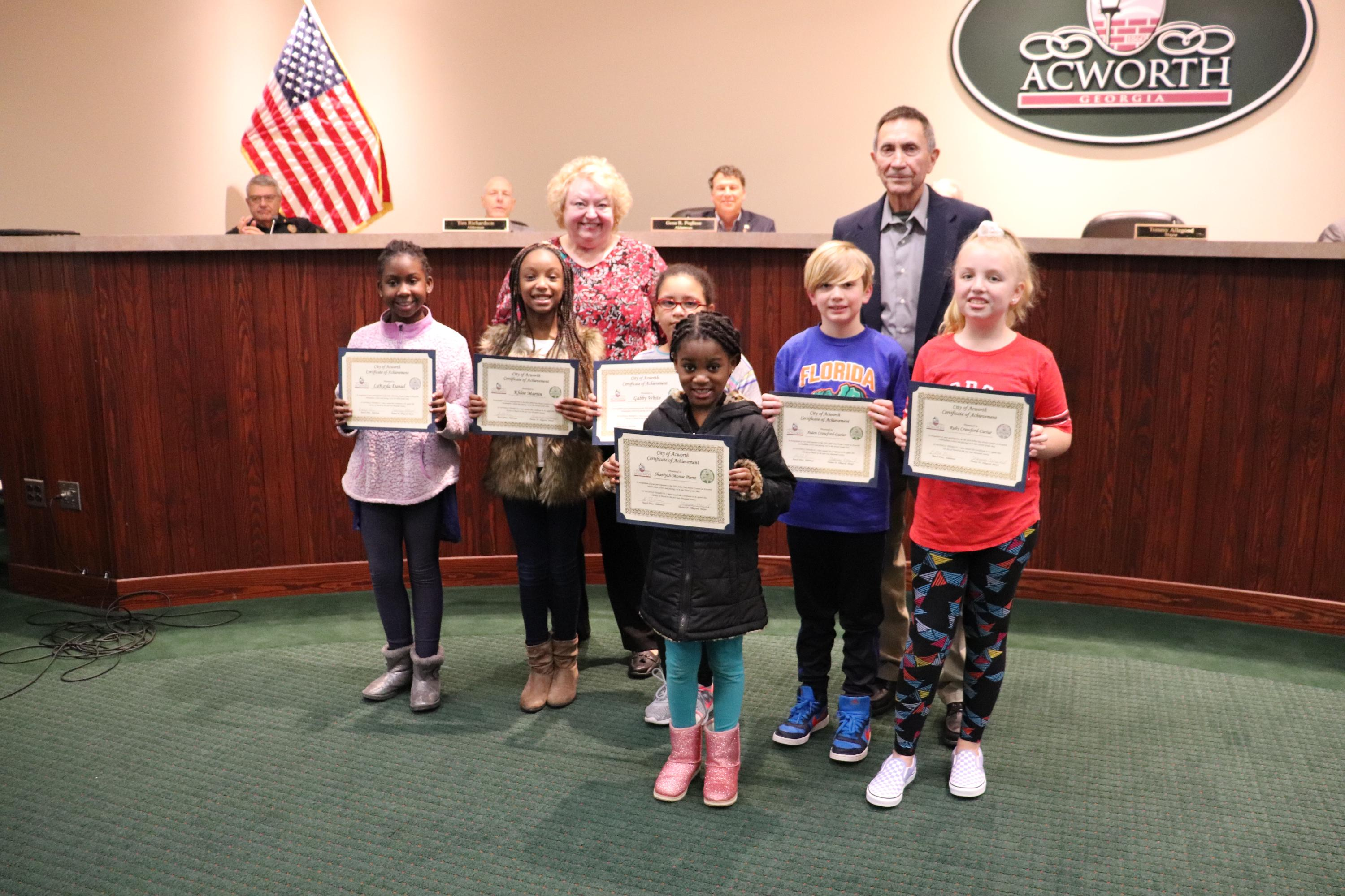 Image of Arbor Day Proclamation Acworth Intermediate