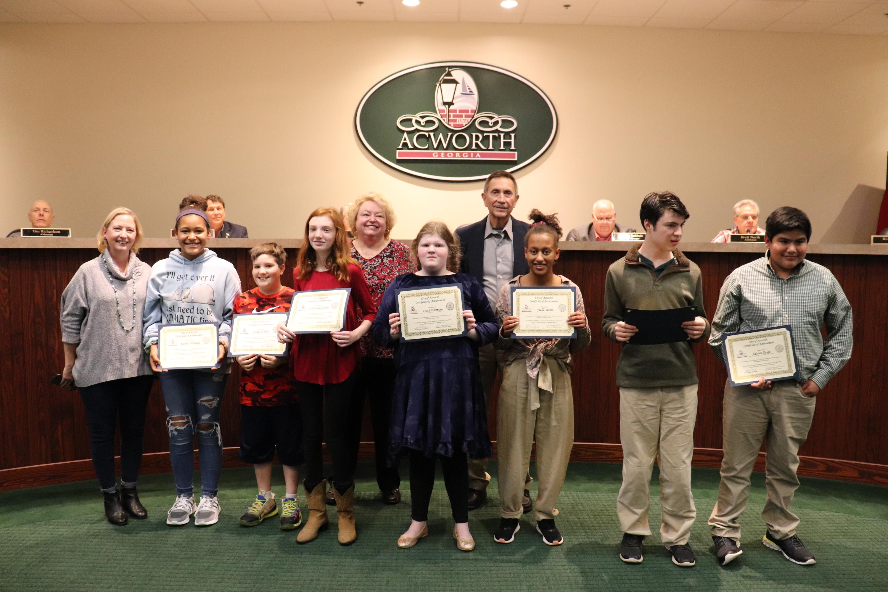 Image of Arbor Day Proclamation Brookwood Academy