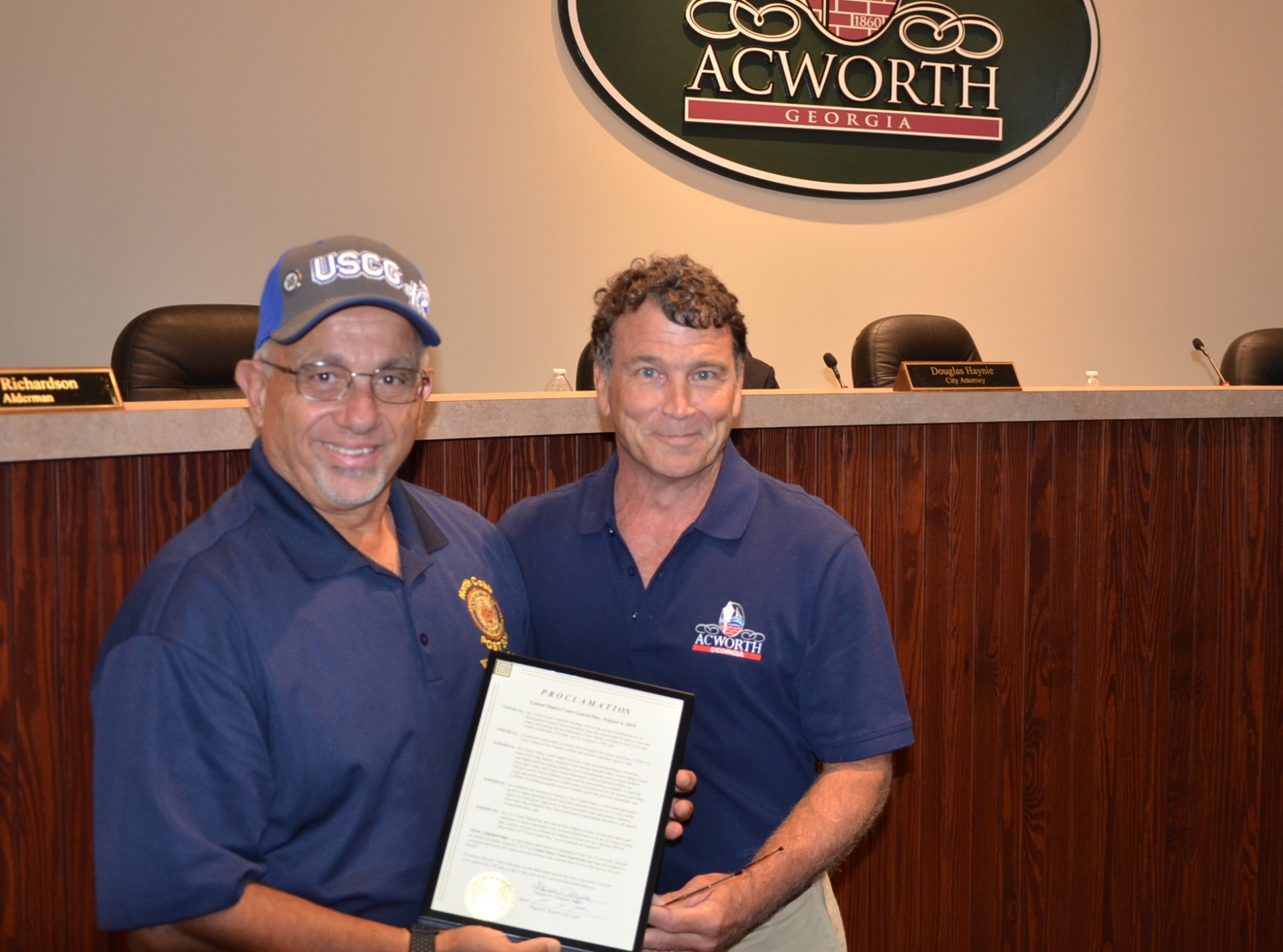 Image of Coast Guard Day Proclamation