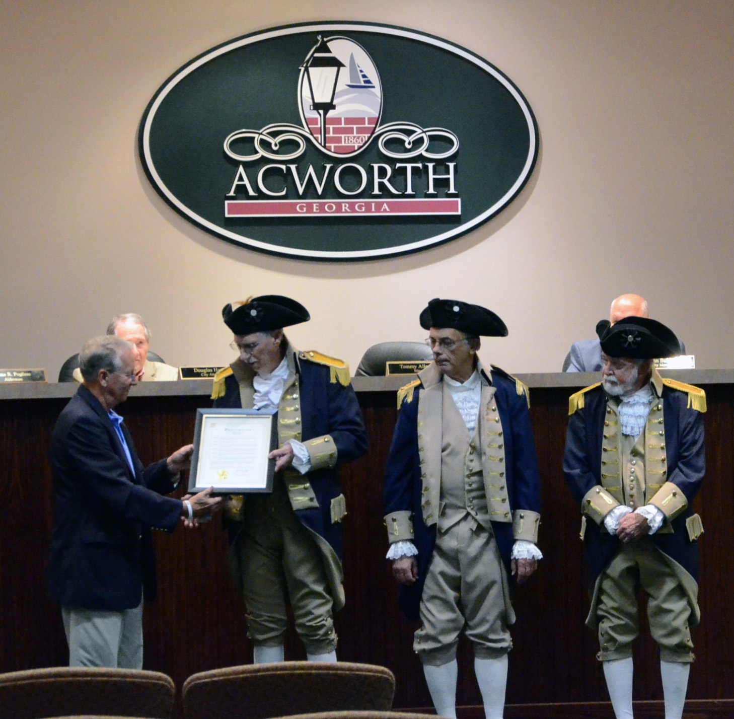 Recognition of Patriots Day, May 5, 2017