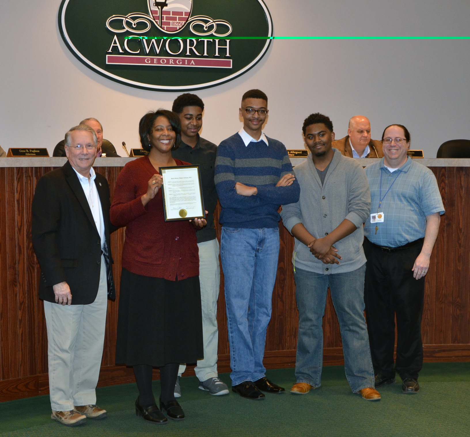 2016 Black History Month Proclamation to Nicole Knotts 3