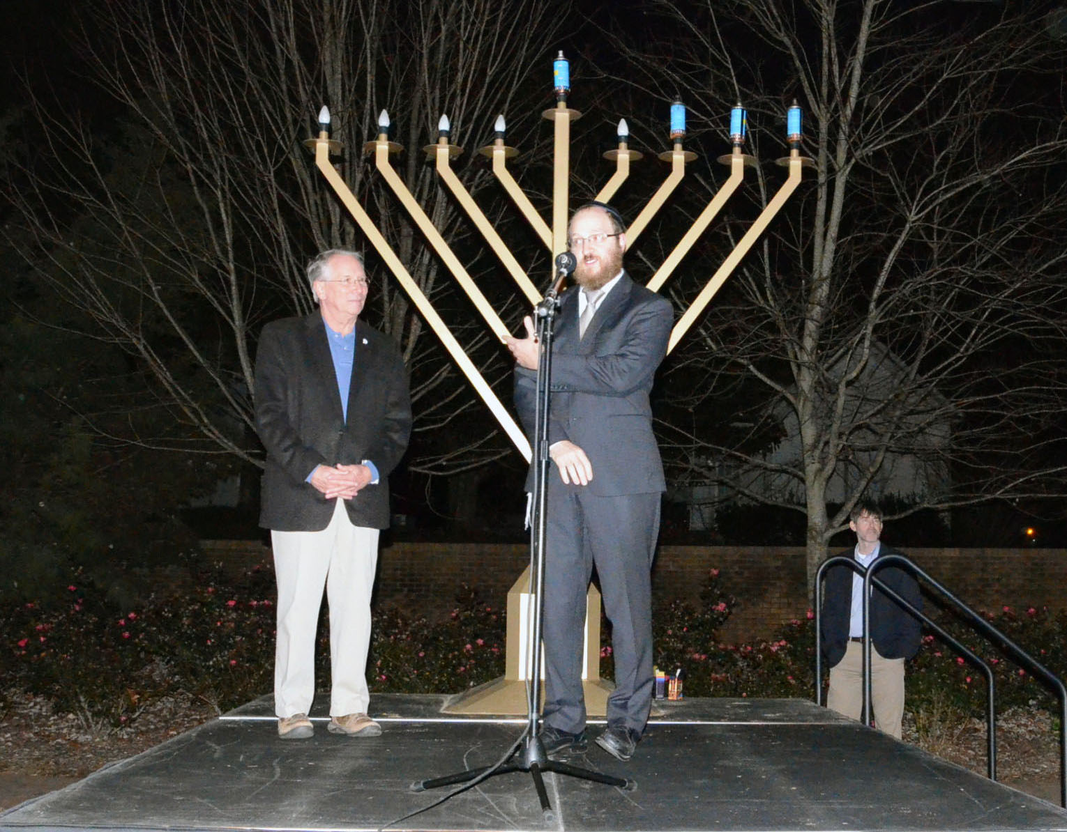 4th Annual Menorah Lighting Ceremony 1