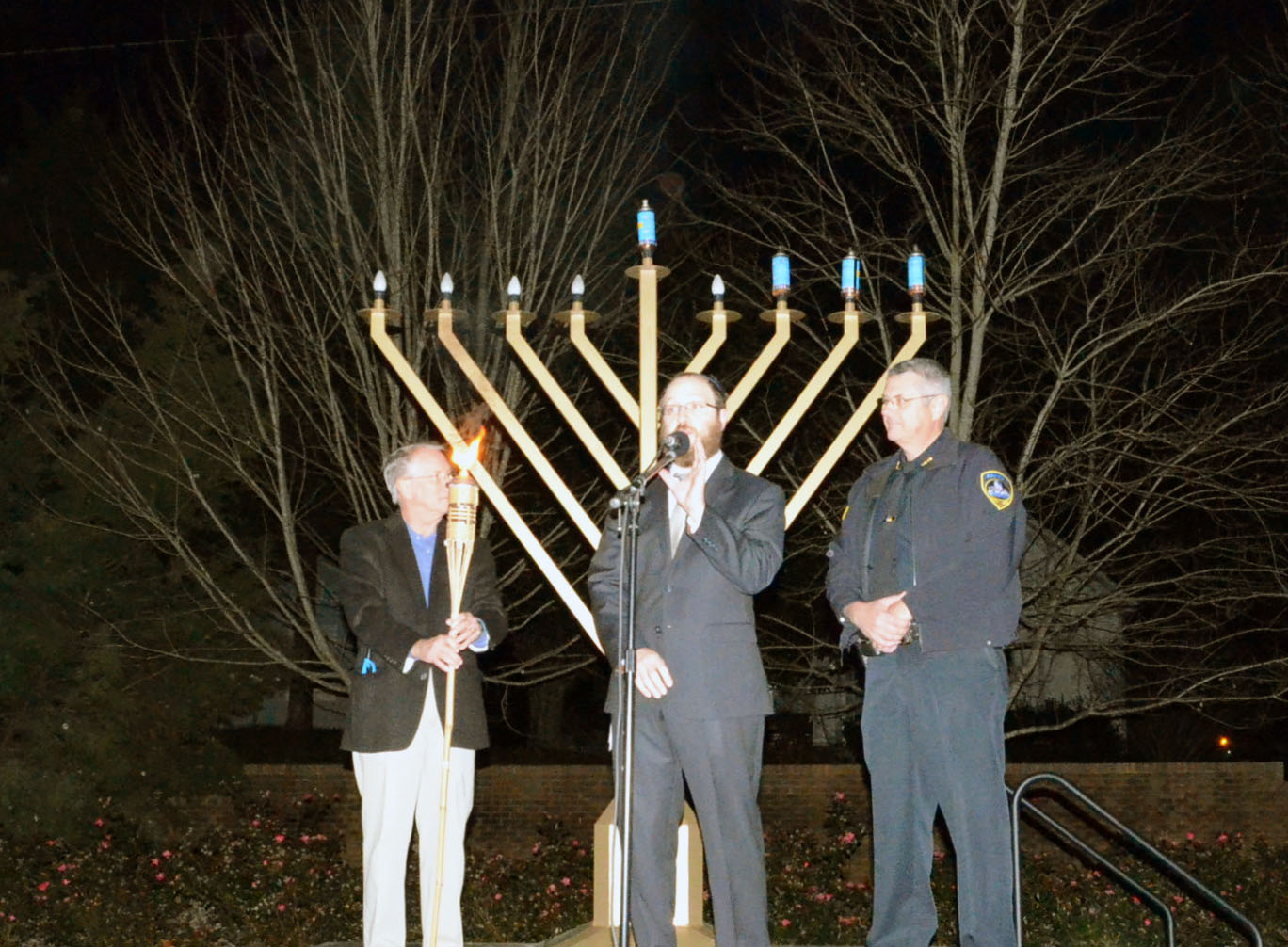 4th Annual Menorah Lighting Ceremony 2