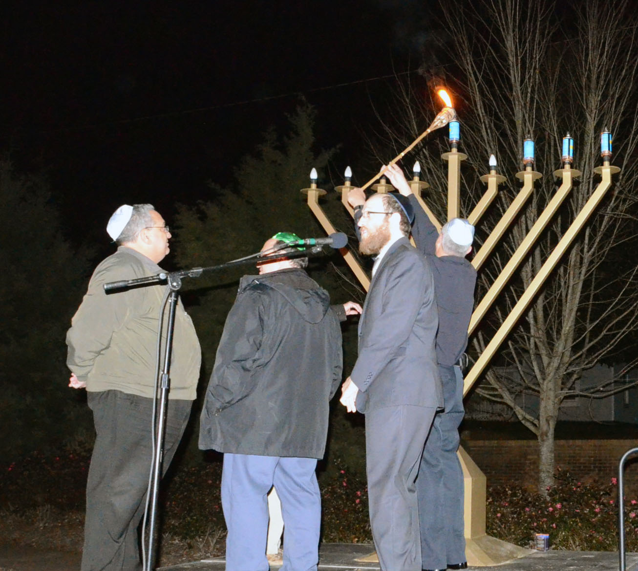 4th Annual Menorah Lighting Ceremony 5