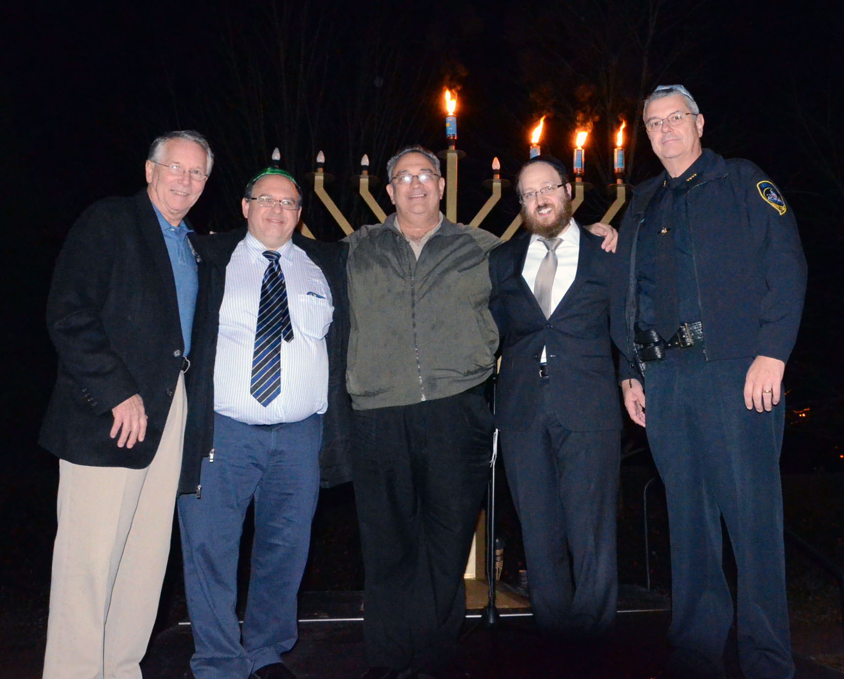 4th Annual Menorah Lighting Ceremony 6