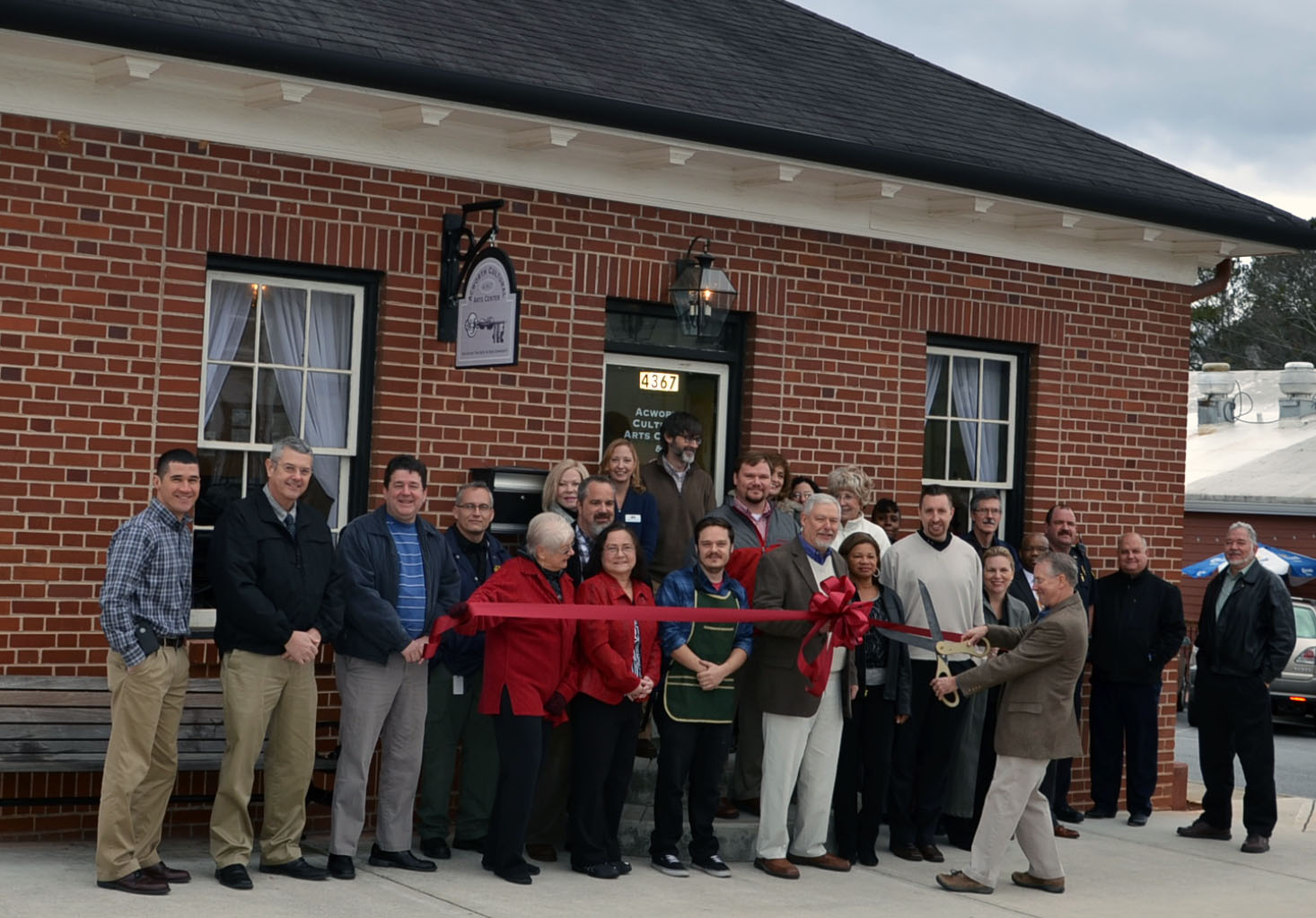 Acworth Cultural Arts Center Ribbon Cutting 1