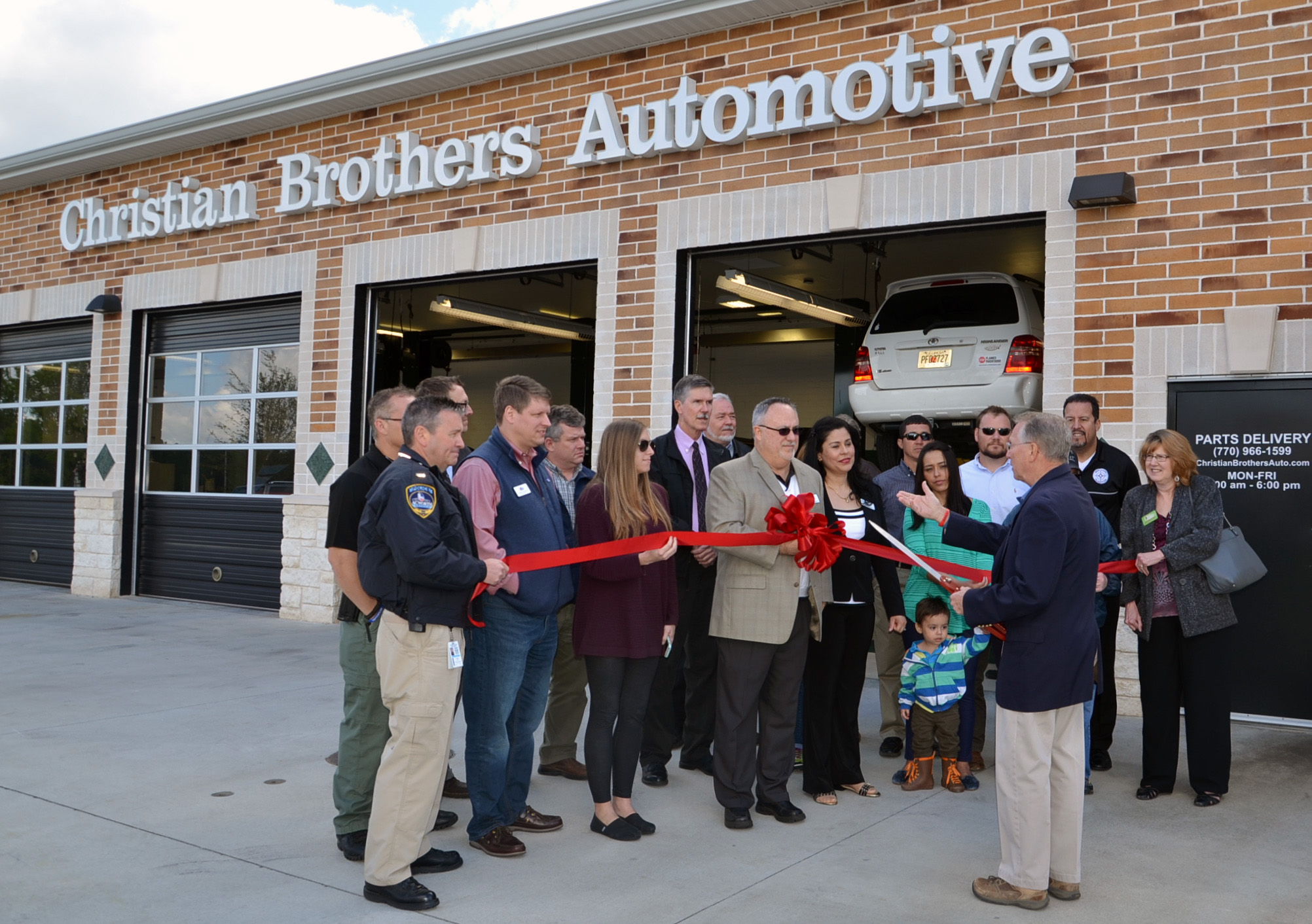 Christian Brothers Auto Ribbon Cutting1