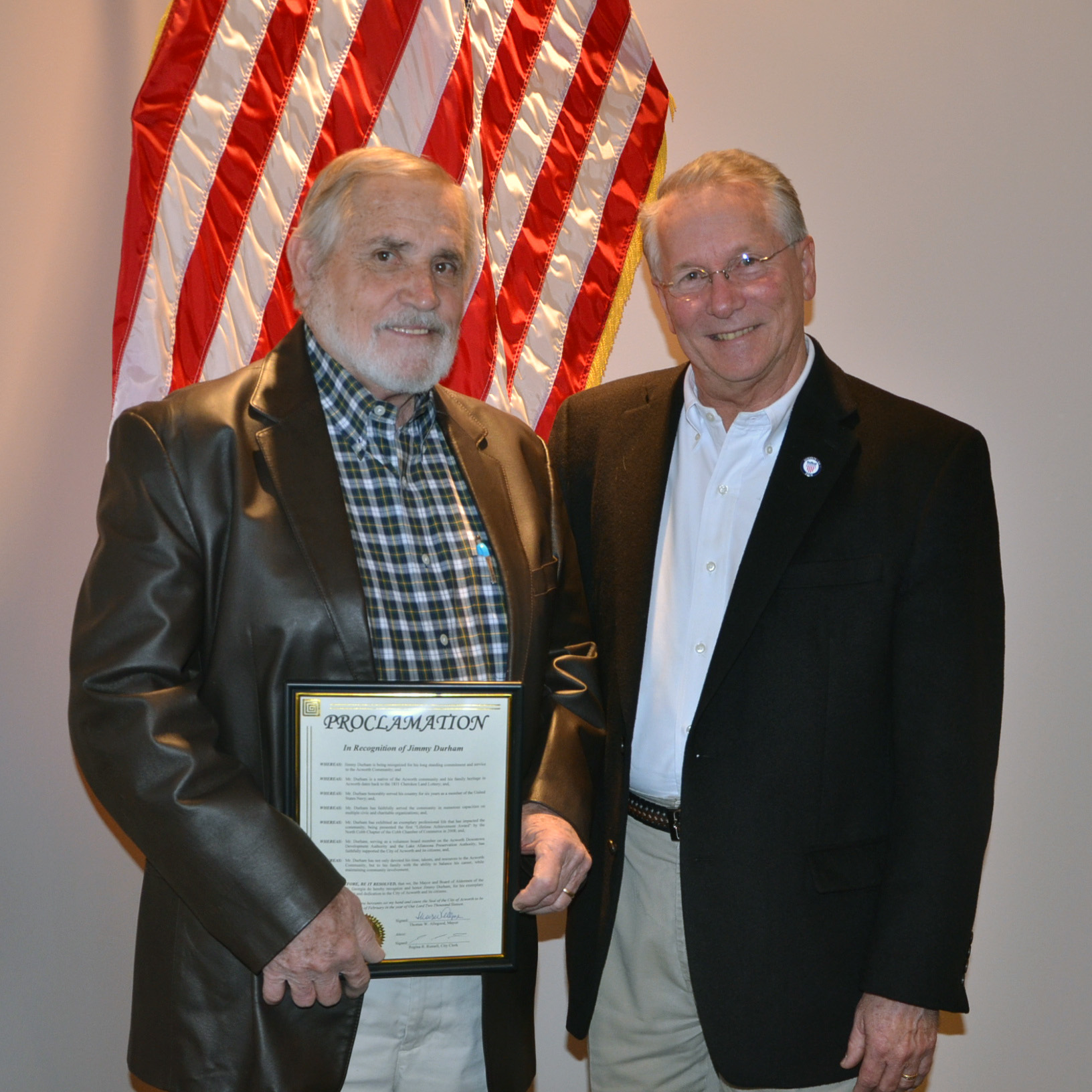 Jimmy Durham's Years of Service with DDA 4
