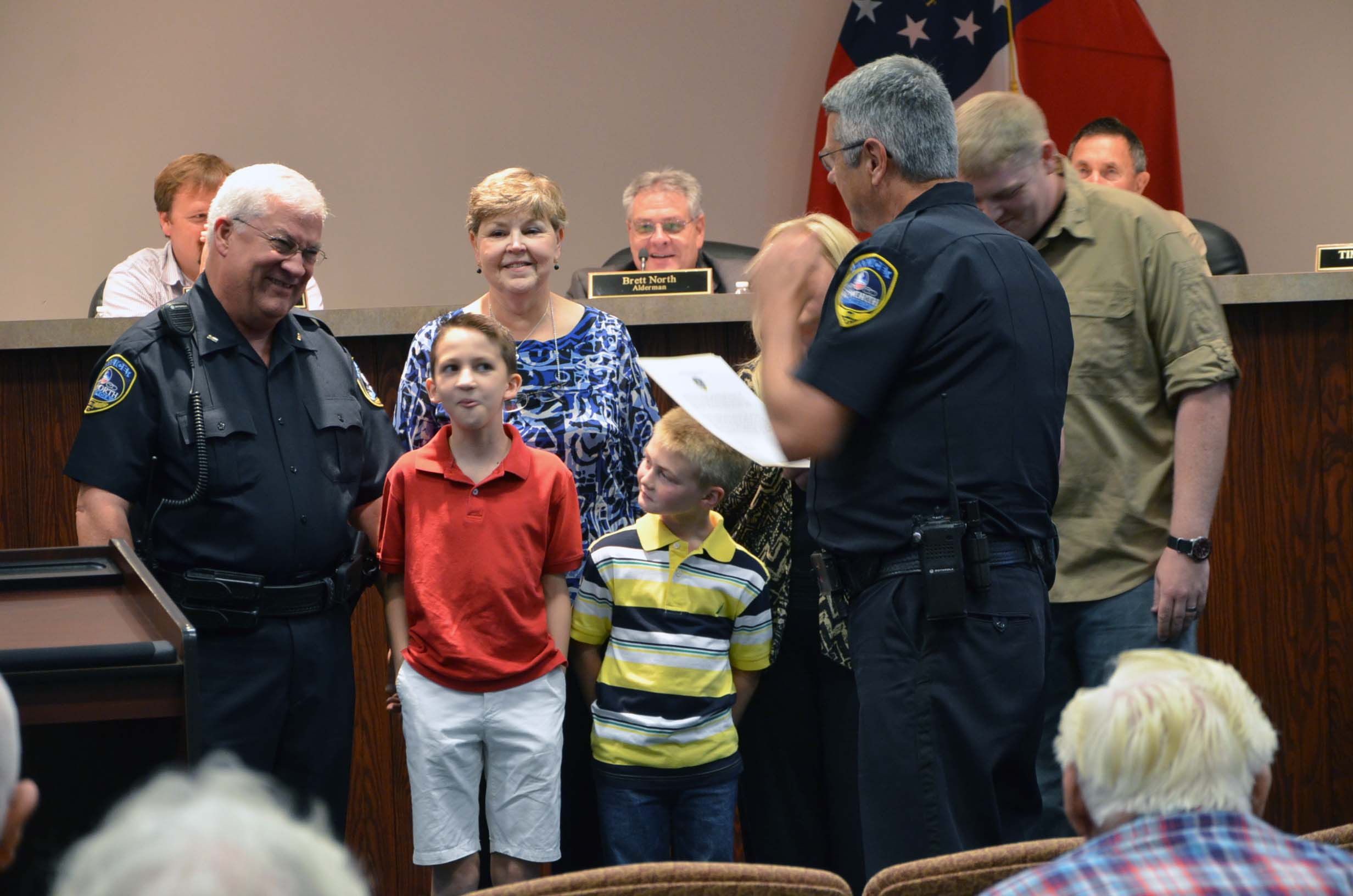 Oath of Office to Rank of Lieutenant for Kenny King 2