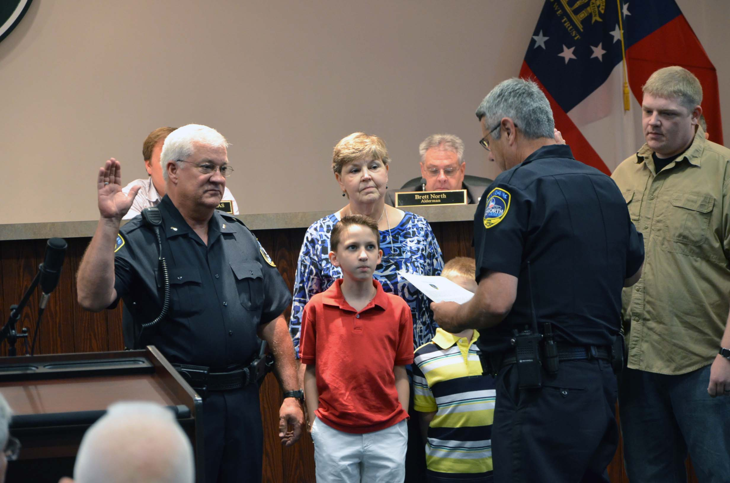Oath of Office to Rank of Lieutenant for Kenny King 3
