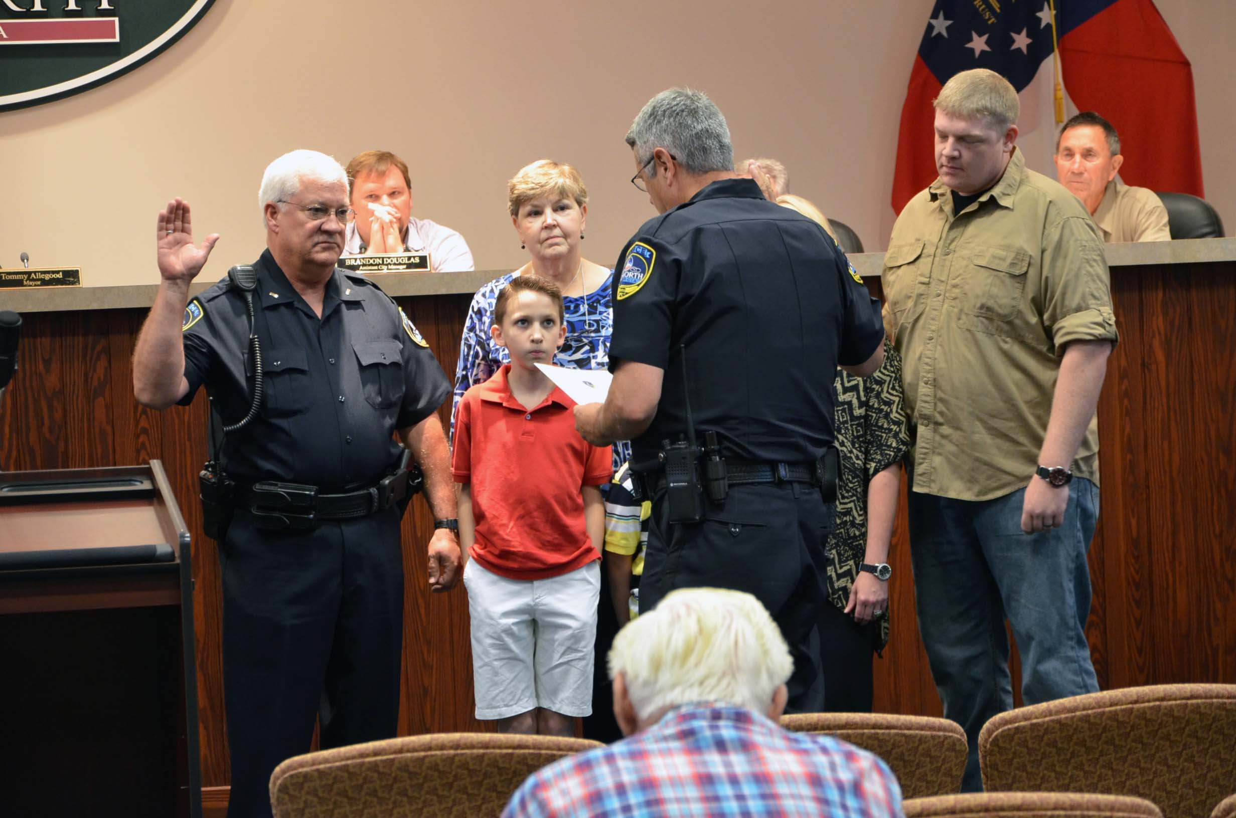 Oath of Office to Rank of Lieutenant for Kenny King 4
