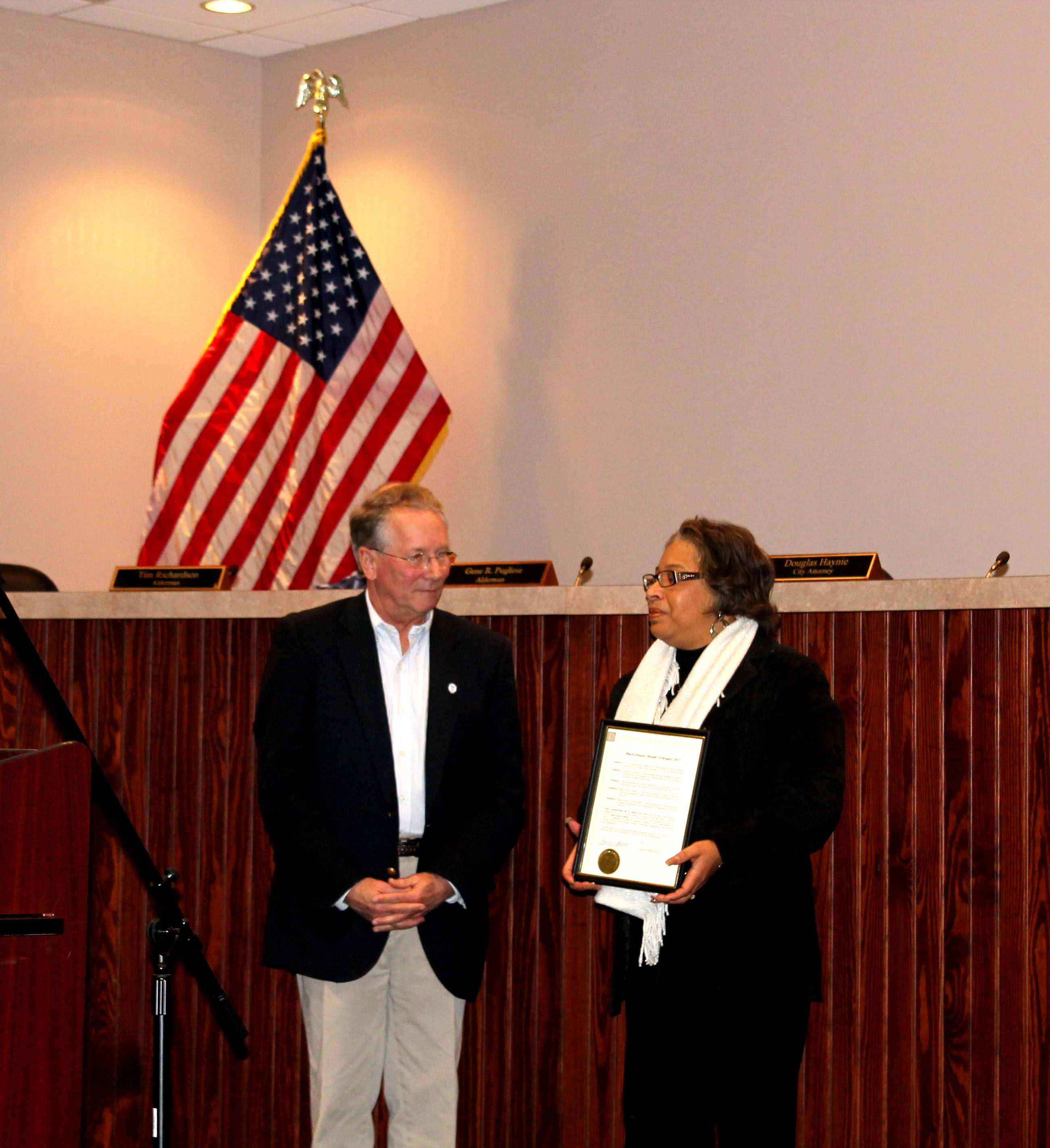 Proclamation in recognition of Black History Month15
