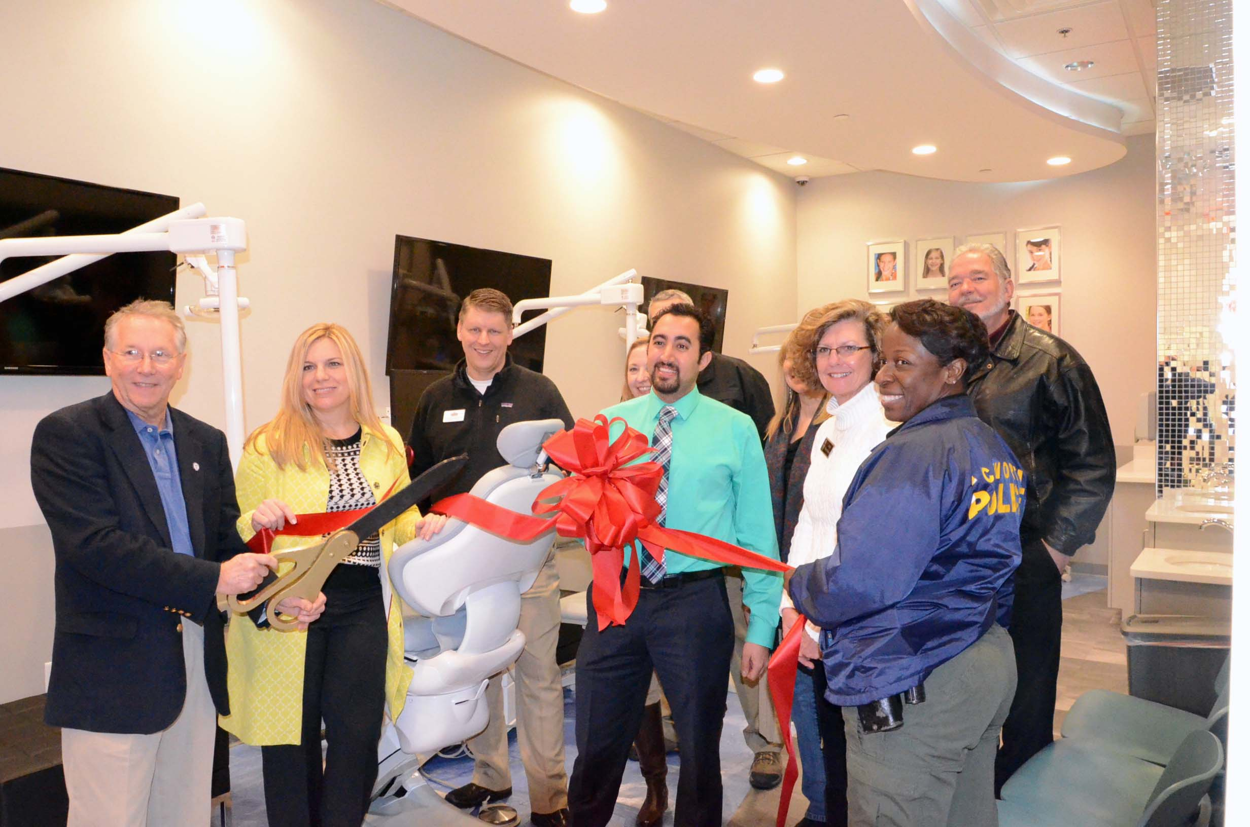 Ribbon Cutting at Braces Braces 1