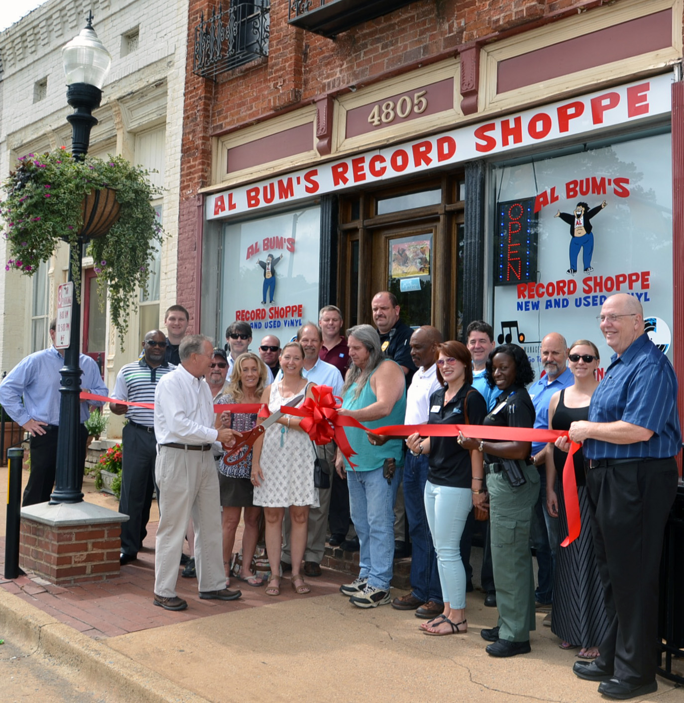 Ribbon Cutting for Al Bum's Record Shoppe photo 2