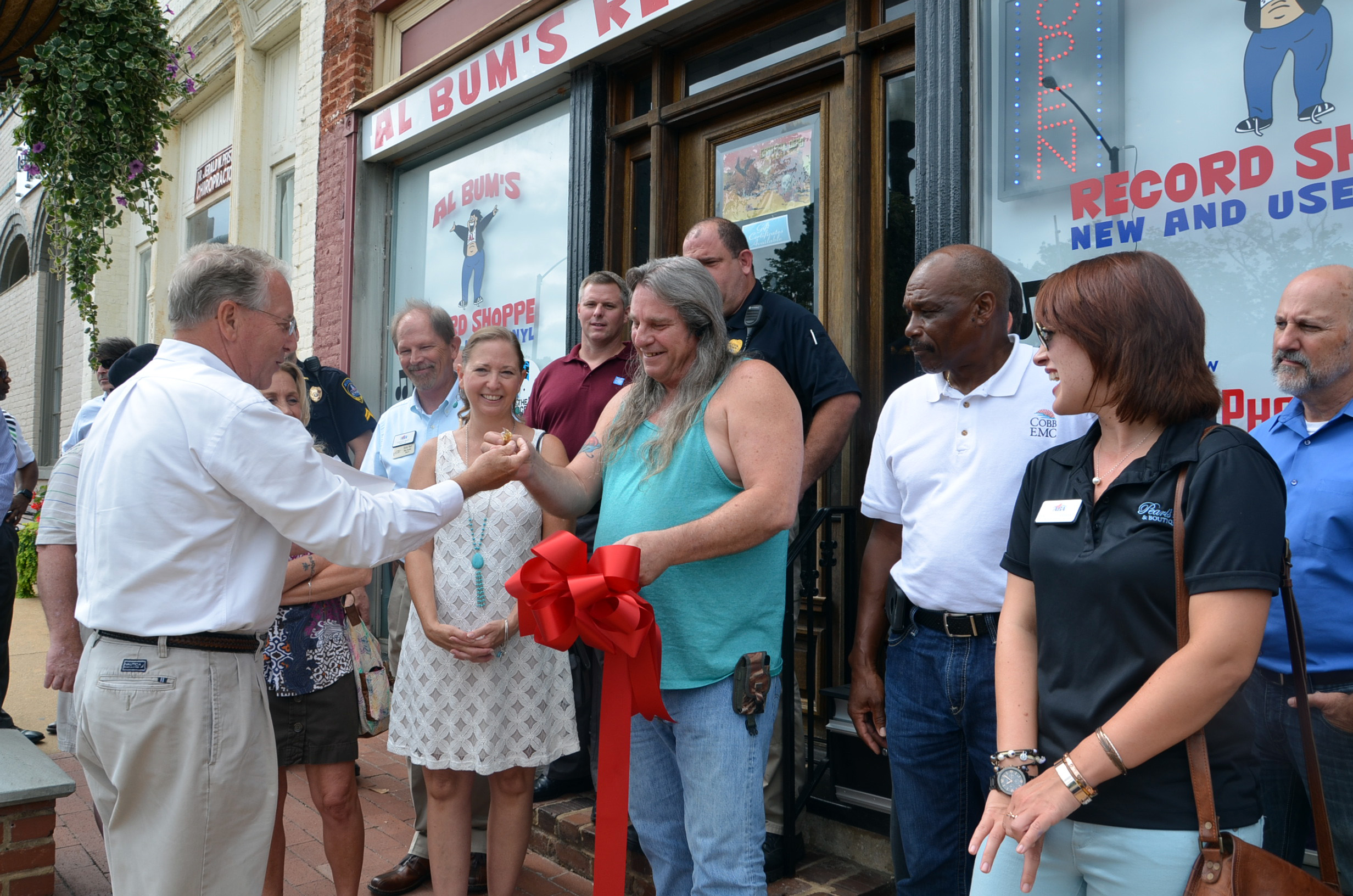 Ribbon Cutting for Al Bum's Record Shoppe photo 3