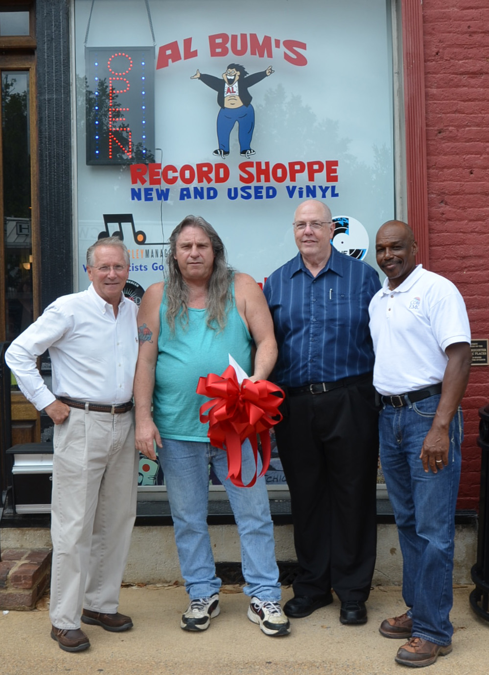 Ribbon Cutting for Al Bum's Record Shoppe photo 4