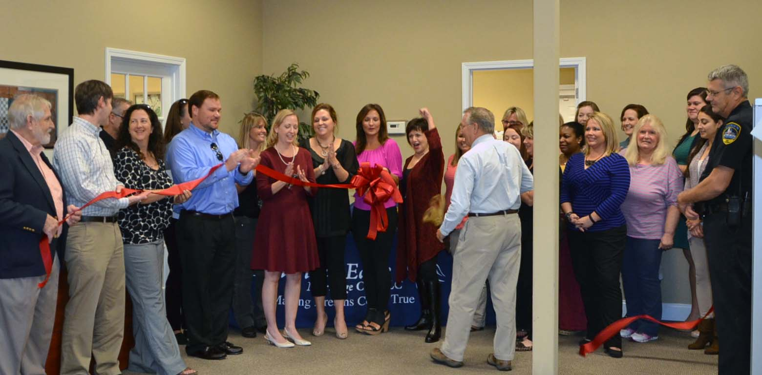 Ribbon Cutting for American Eagle Mortgage 3