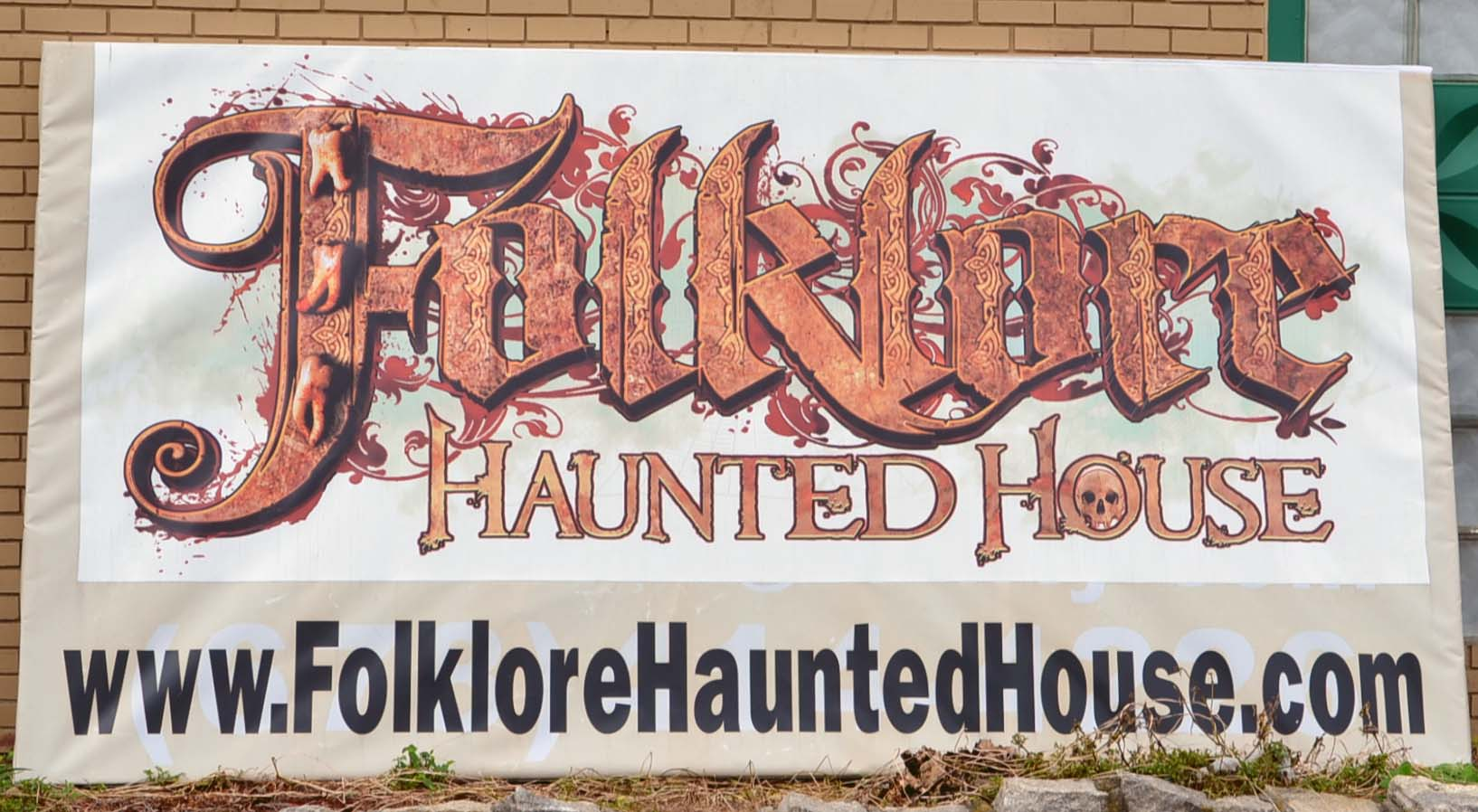 Ribbon Cutting for Folklore Haunted House 1