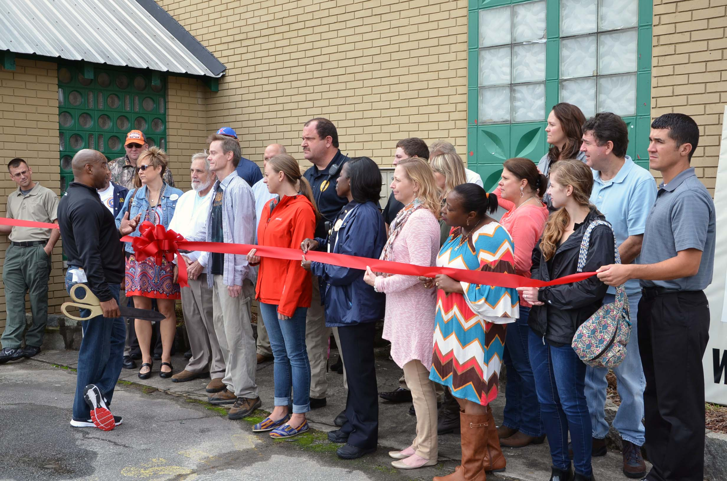 Ribbon Cutting for Folklore Haunted House 2