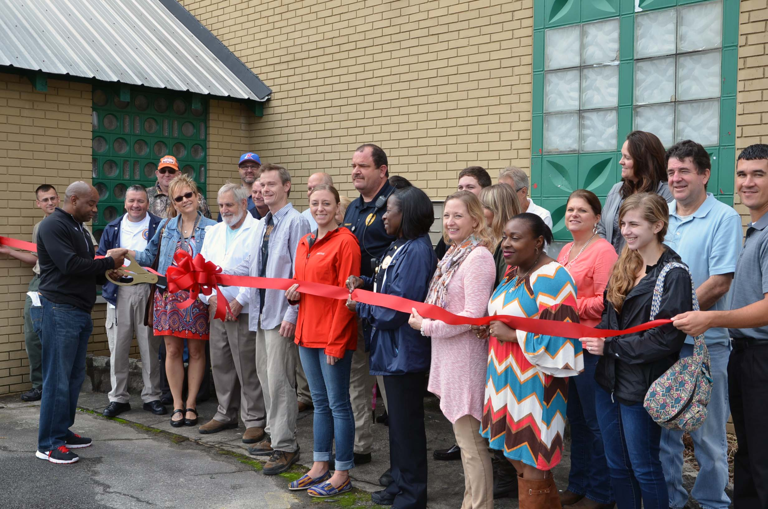 Ribbon Cutting for Folklore Haunted House 3