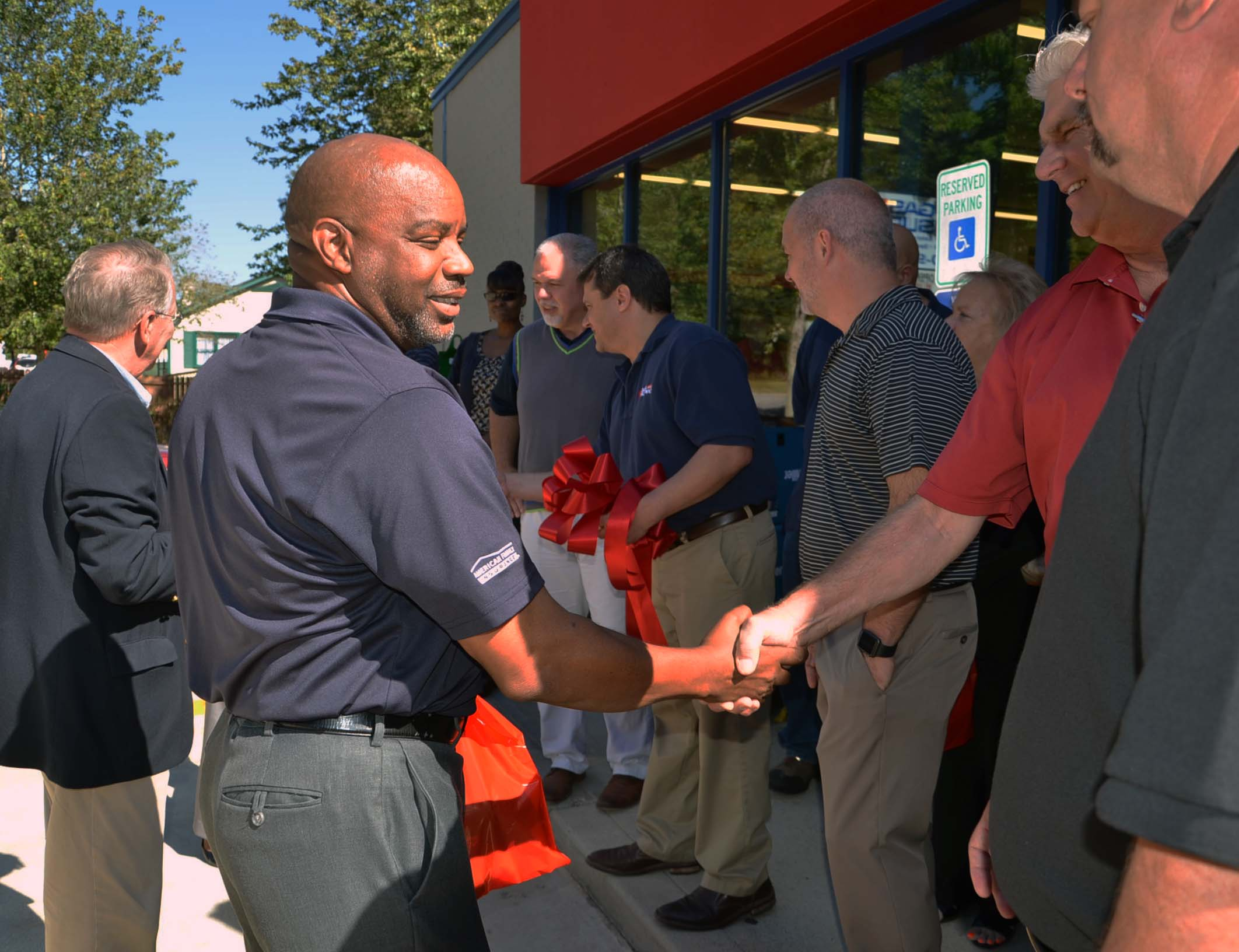 Ribbon Cutting for Gas & Supply 3