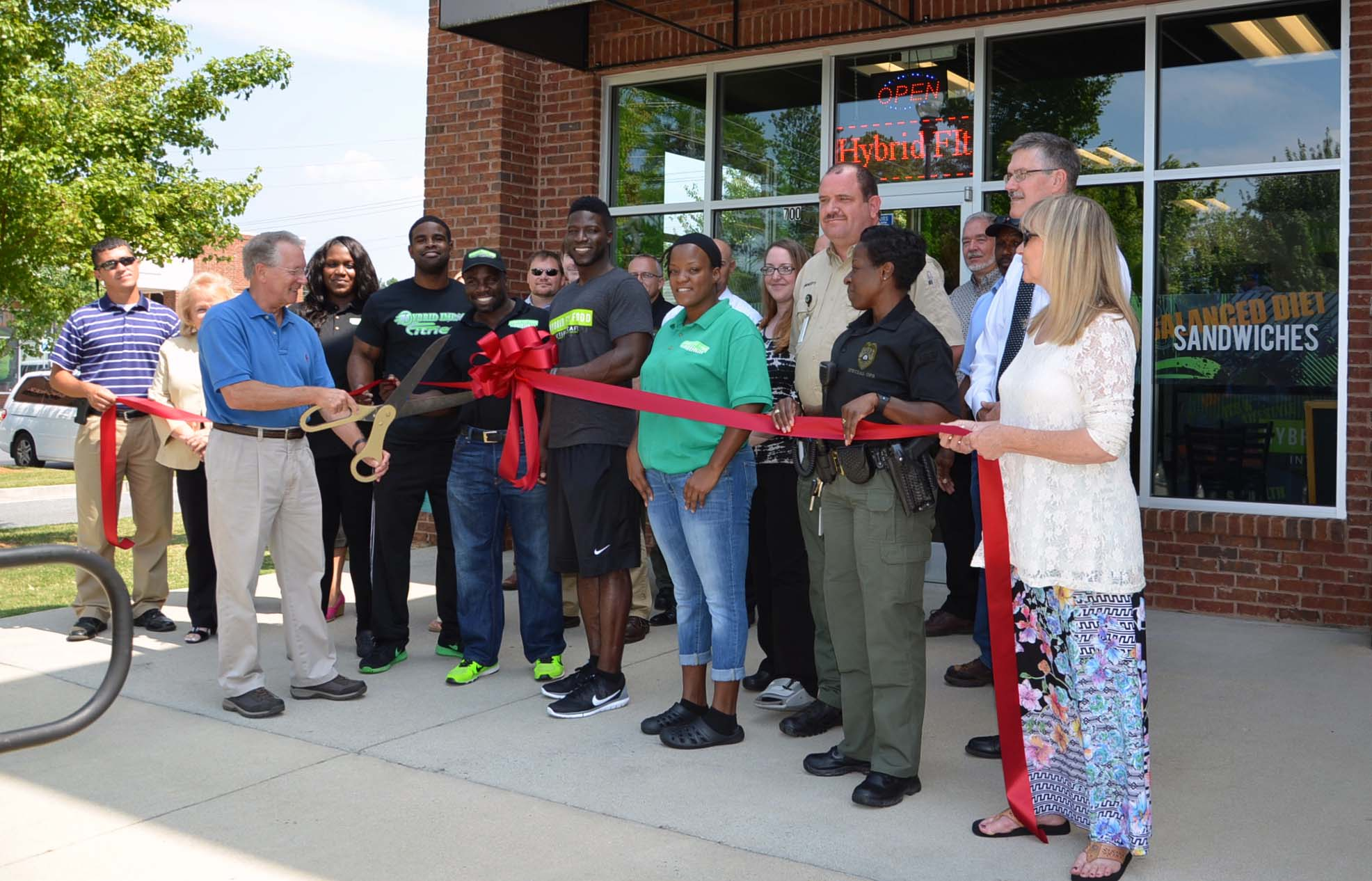 Ribbon Cutting for Hybrid Fit Food 1