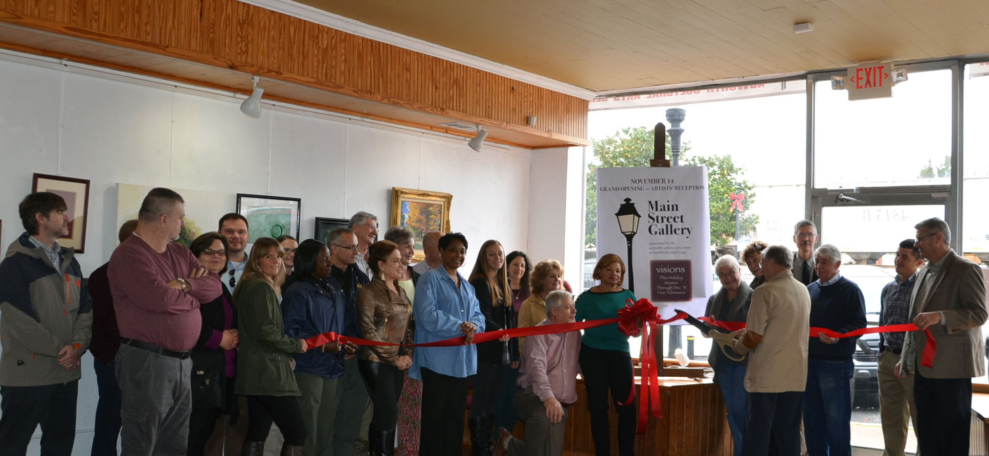 Ribbon Cutting for Main Street Gallery 1