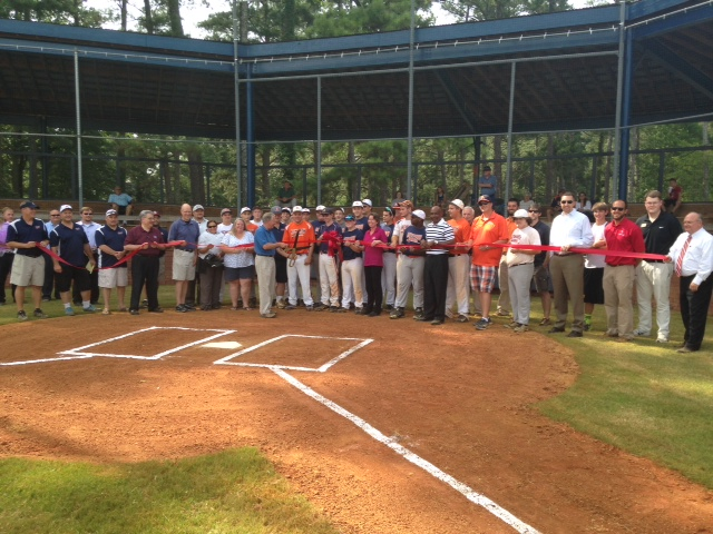 Ribbon Cutting for Senior Field at Newberry Park 1