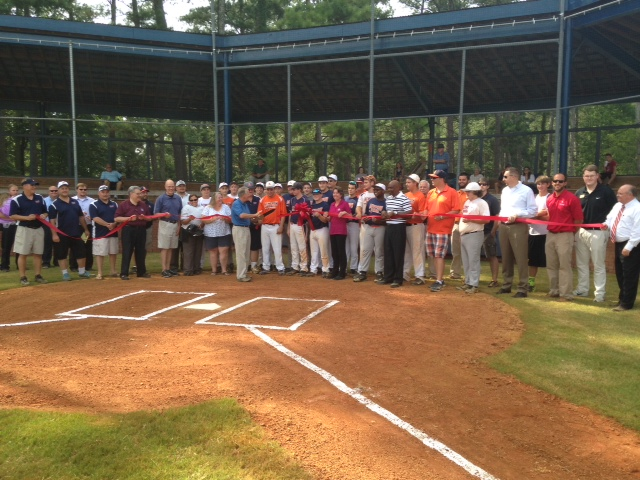 Ribbon Cutting for Senior Field at Newberry Park 2