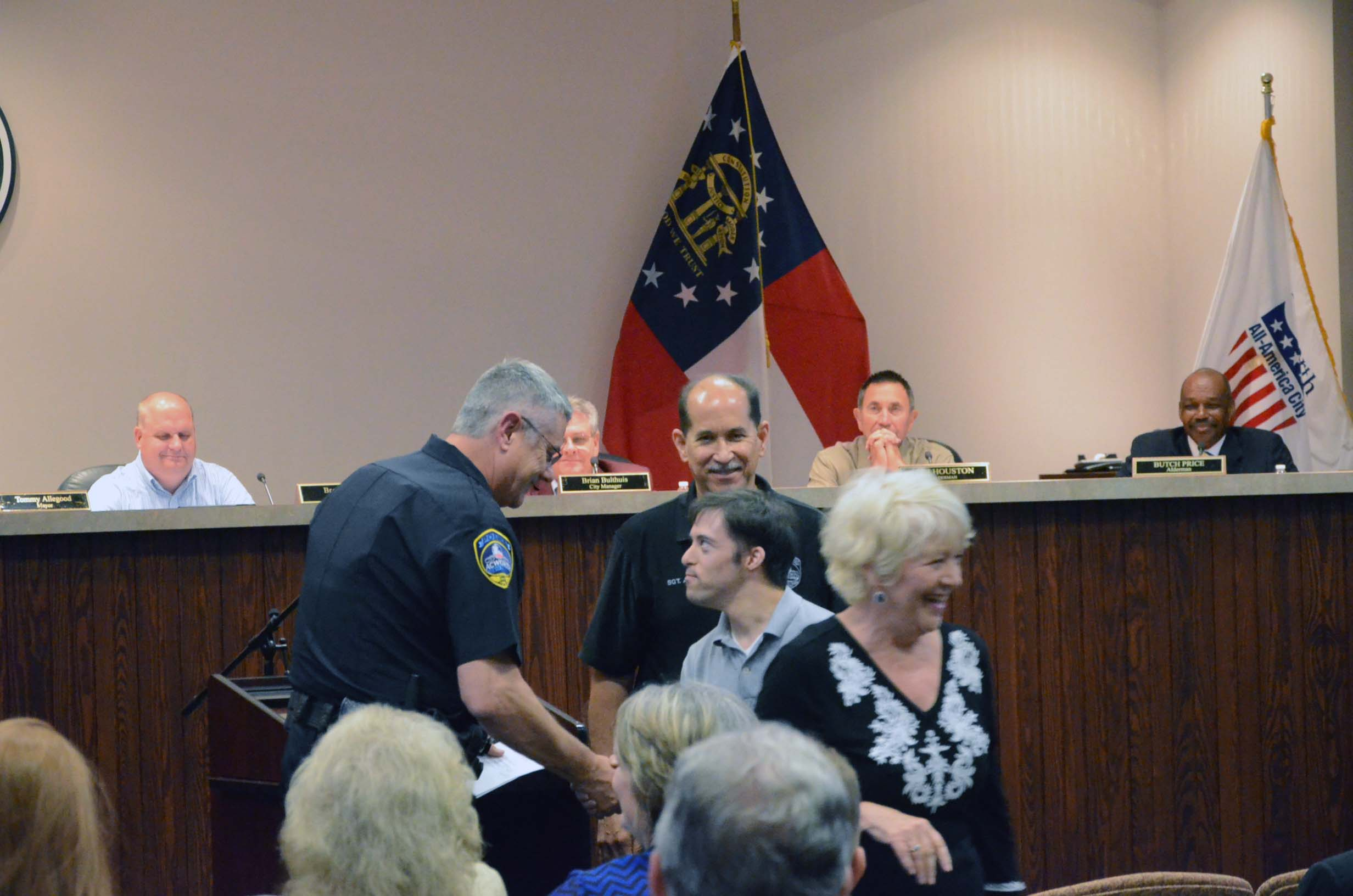 Sgt. Jose Agosto Retires from Acworth Police Department 1