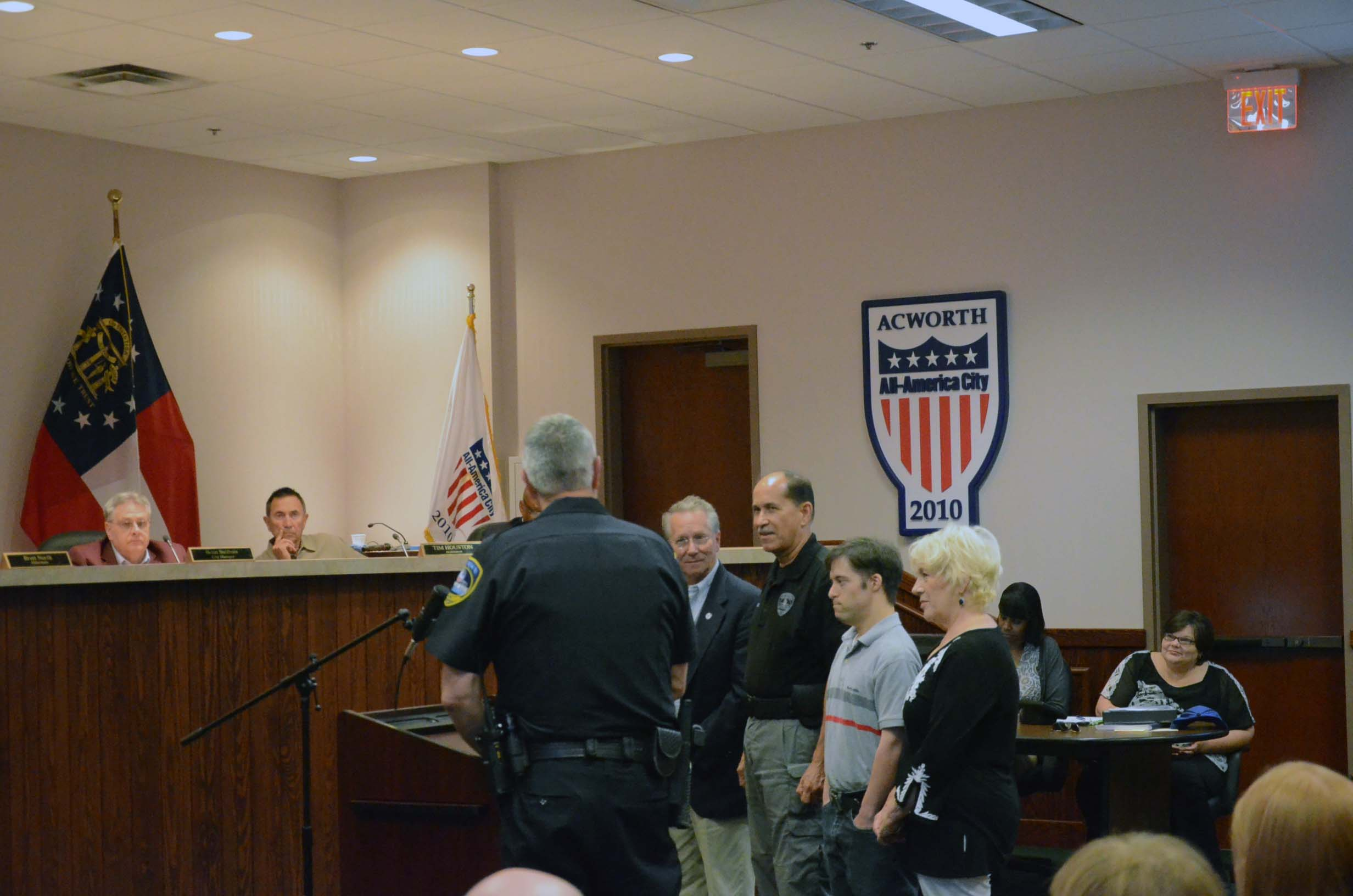 Sgt. Jose Agosto Retires from Acworth Police Department 2
