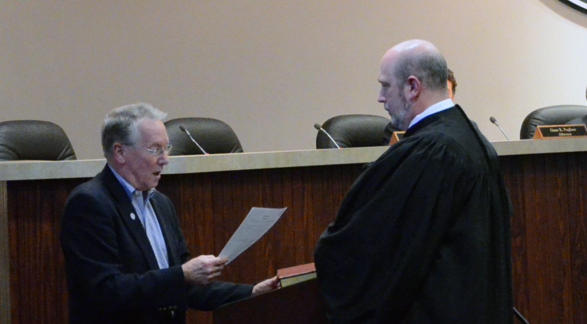Swearing-In of Acworth Municipal Court Judges 2