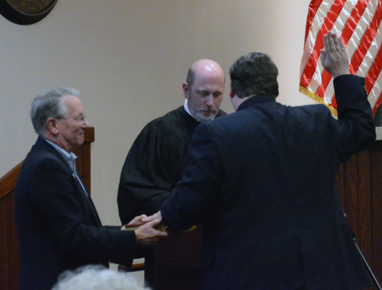 Swearing-In of Acworth Municipal Court Judges 3