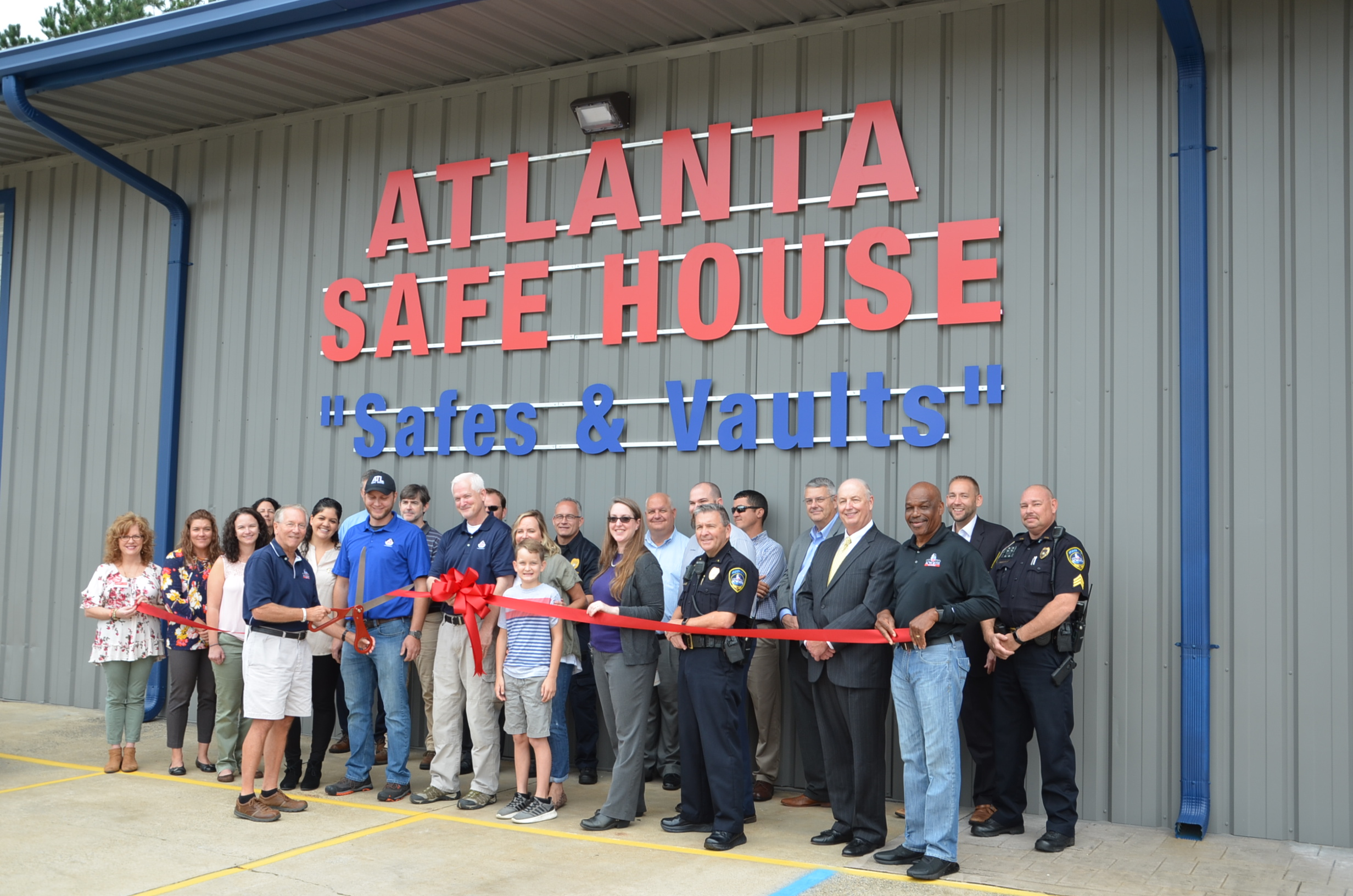 Safe House Ribbon Cutting