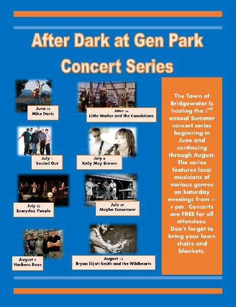After Dark at Gen Park concerts